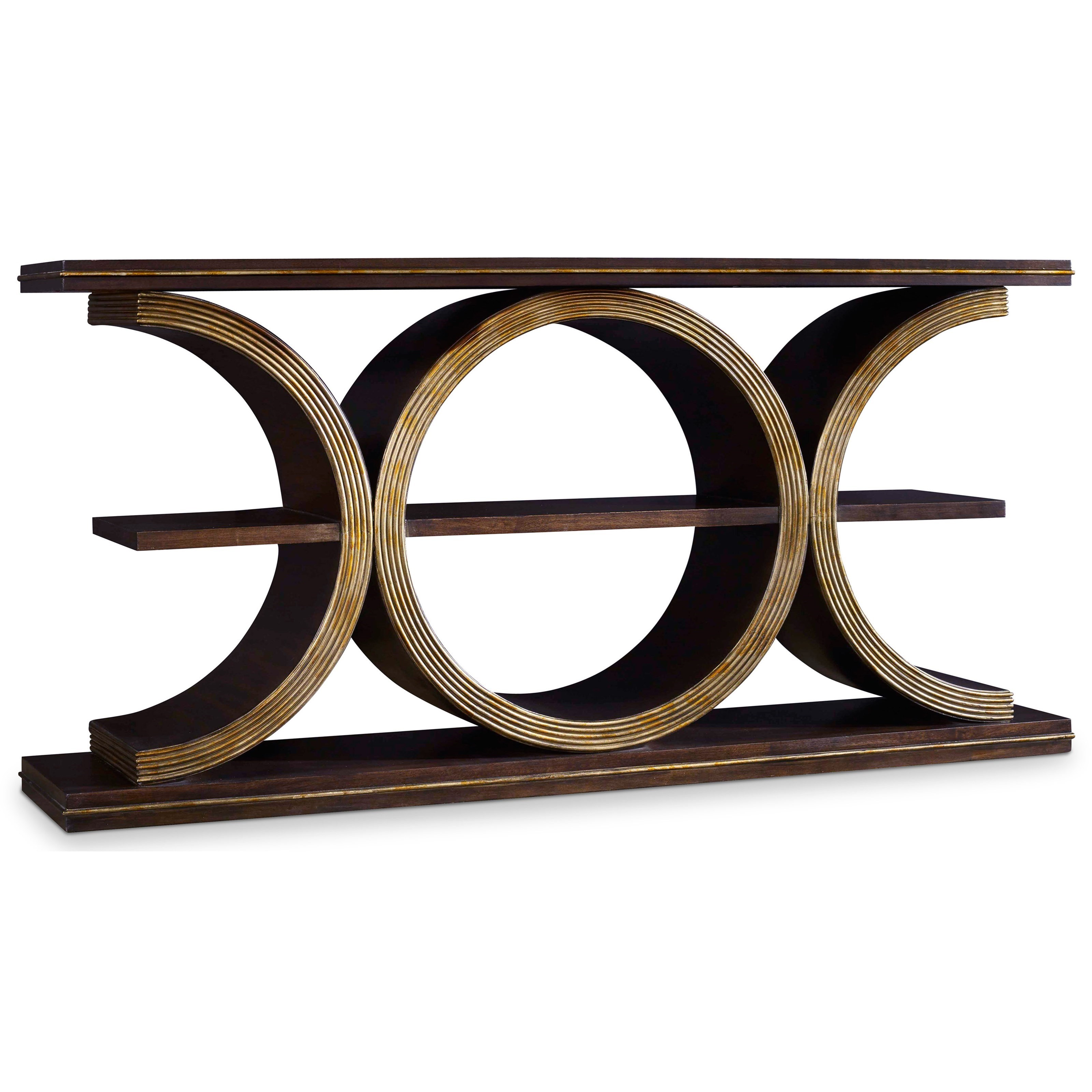 Mélange Presidio Console Table by Hooker Furniture at Baer's Furniture