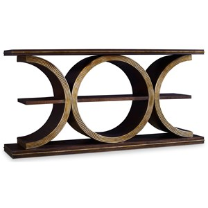 Presidio Console Table with Shelf
