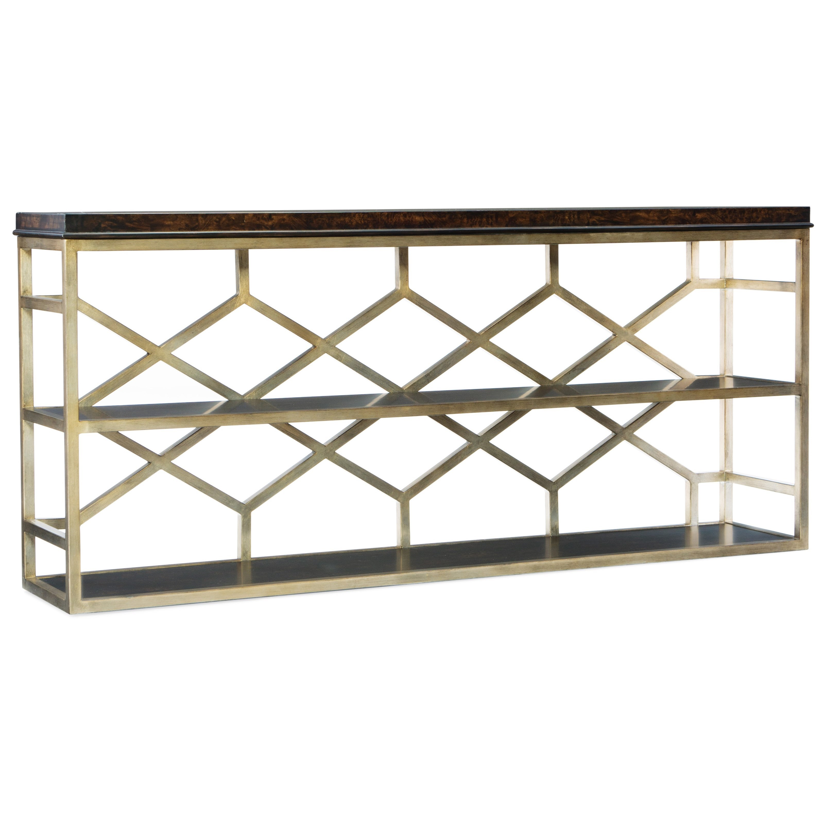 Mélange Giles Console Table by Hooker Furniture at Baer's Furniture