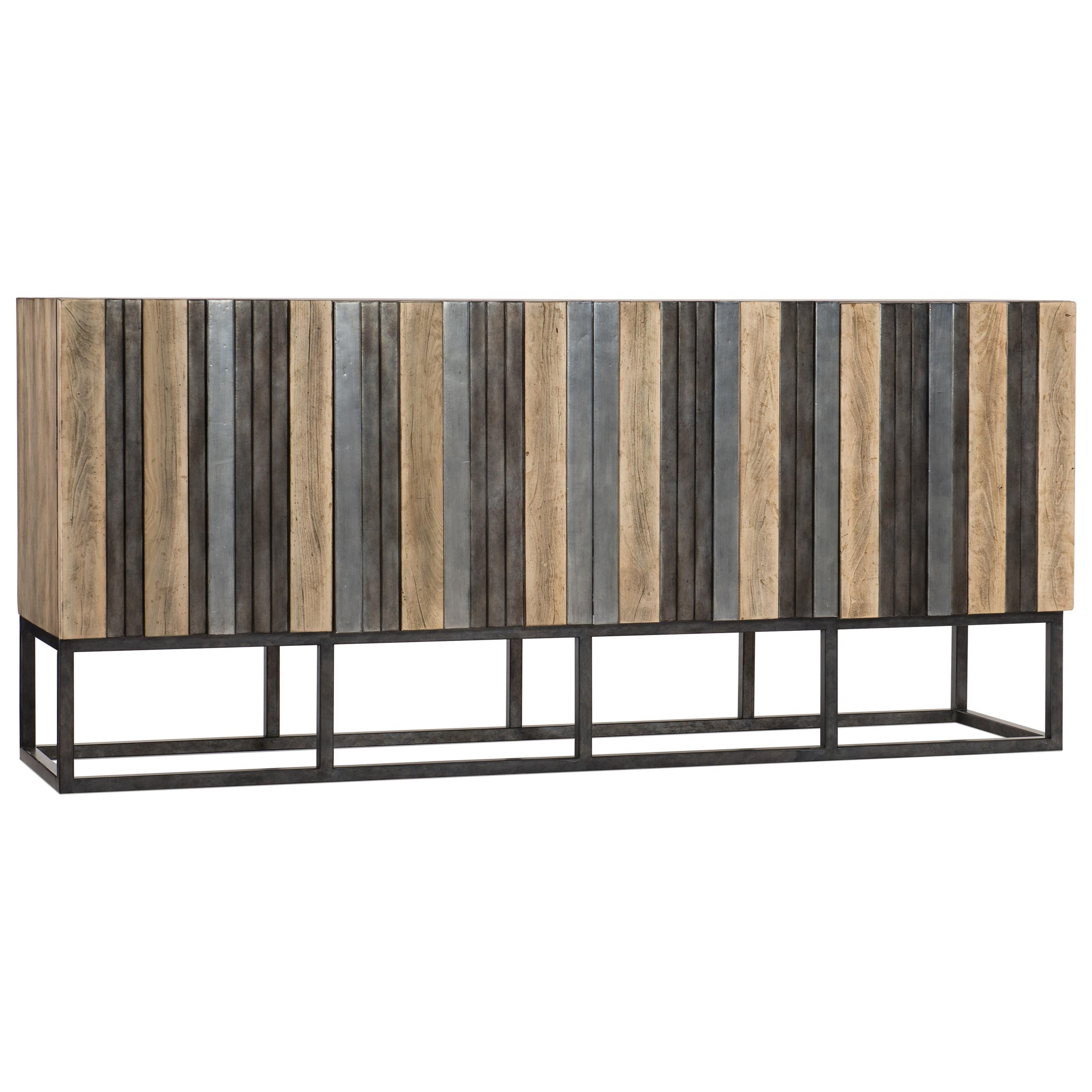 Melange Brady Credenza by Hooker Furniture at Stoney Creek Furniture