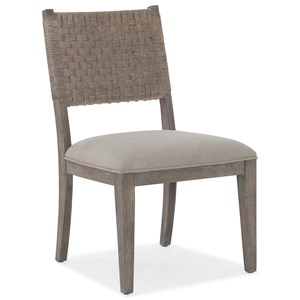 Artemis Side Chair with Woven Back