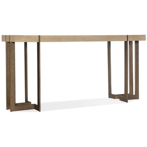 Max Console Table with Metal Legs