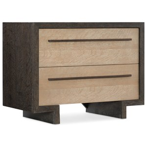 Winslow Two-Drawer Nightstand with Touch Dimmer Switch