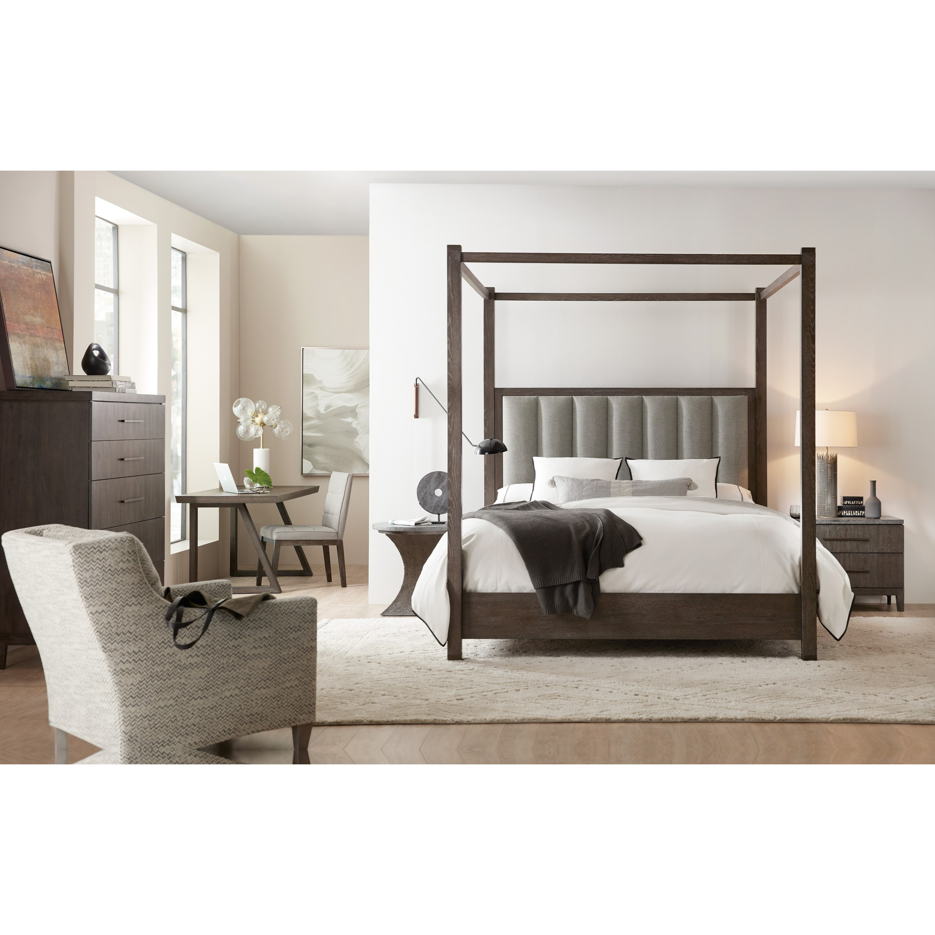 Miramar Aventura Queen Bedroom Group by Hooker Furniture at Baer's Furniture