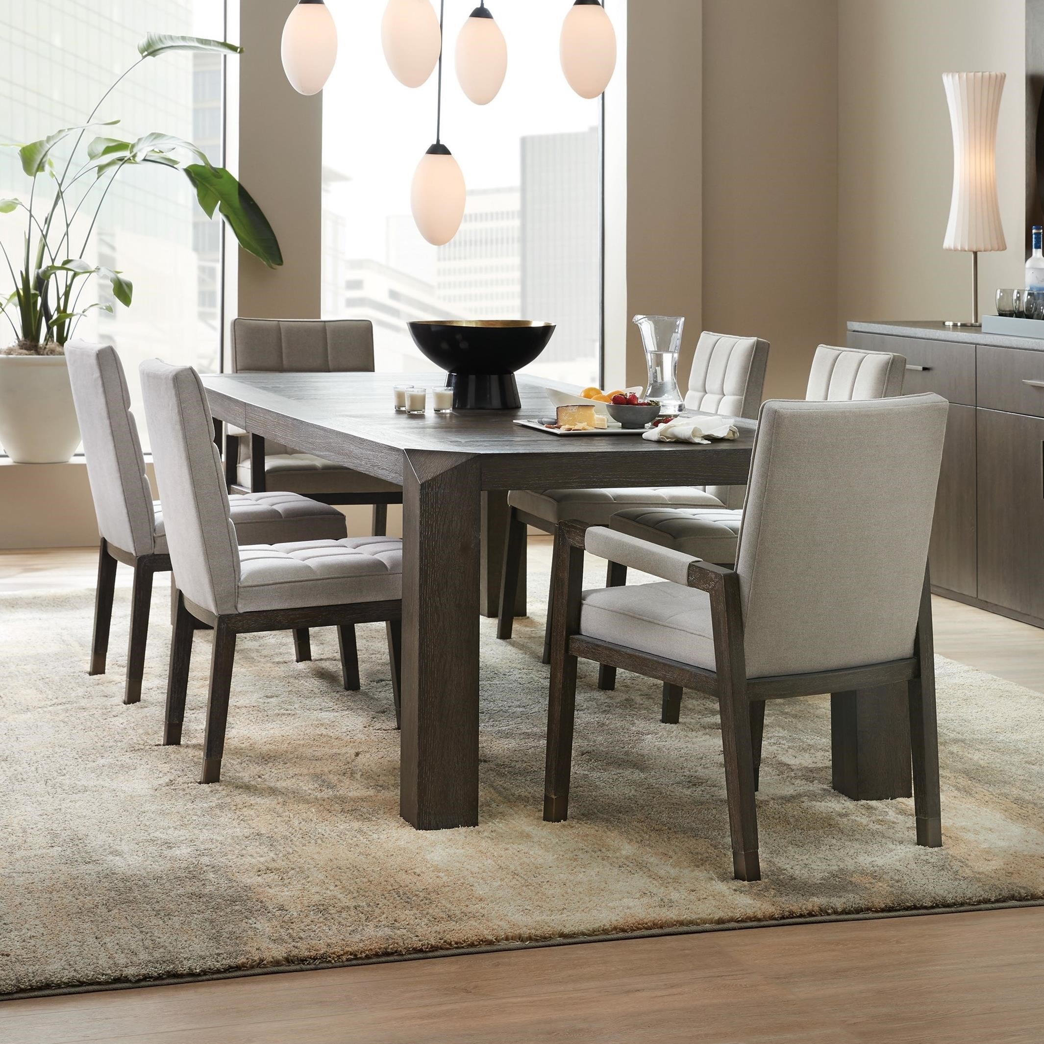 Miramar Aventura 7 Piece Table and Chair Set by Hooker Furniture at Baer's Furniture