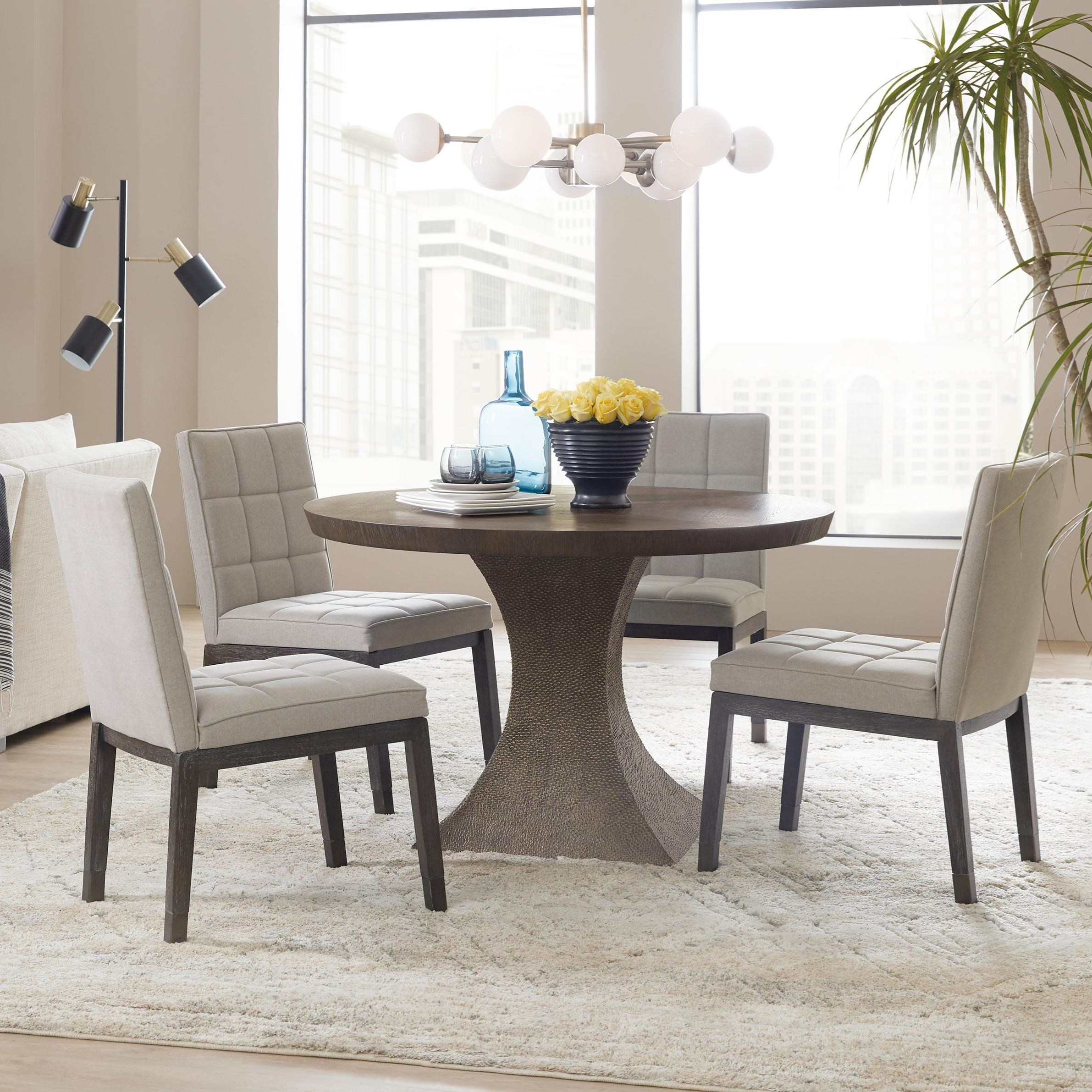 Miramar Aventura 5 Piece Table and Chair Set by Hooker Furniture at Stoney Creek Furniture