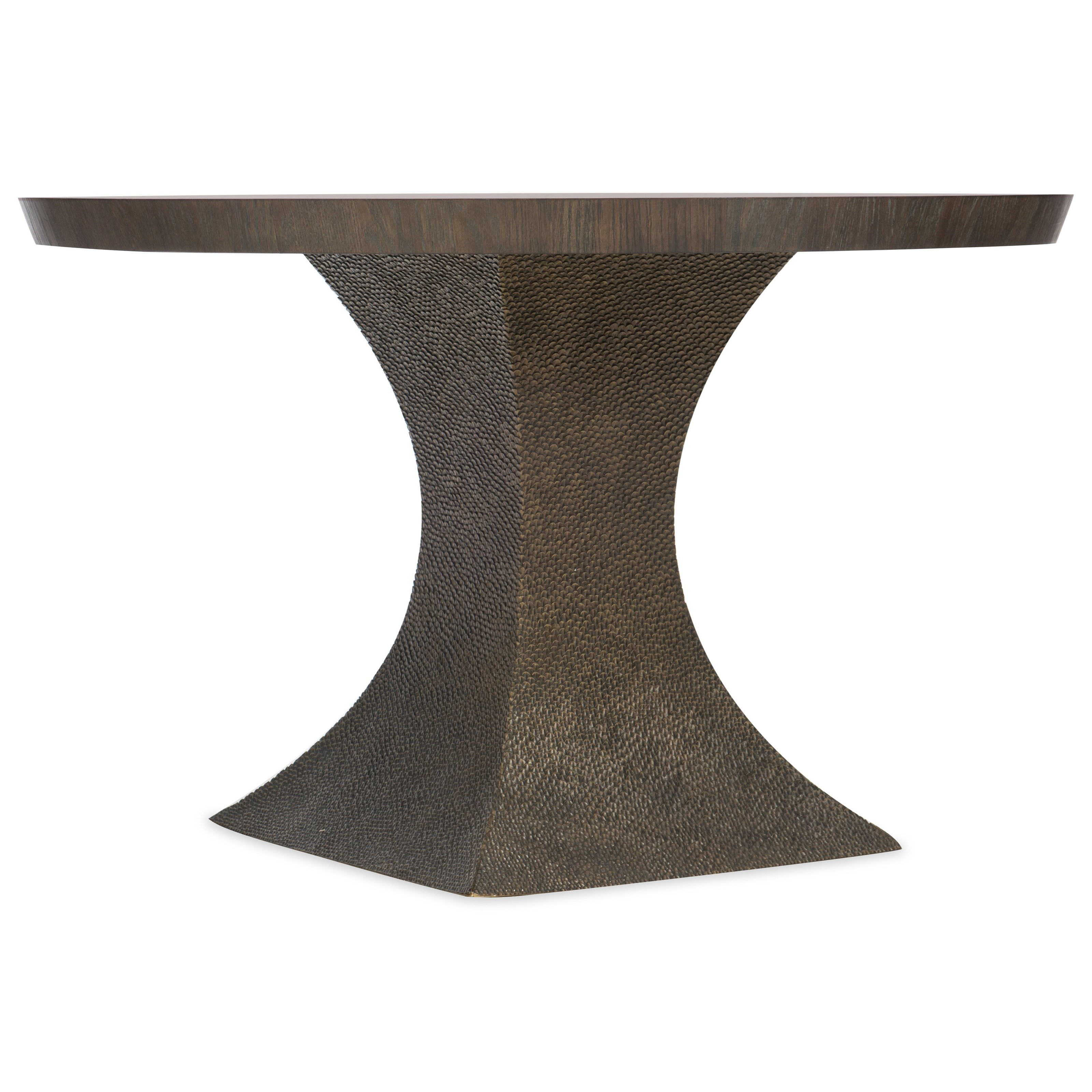 Miramar Aventura Greco 48in Round Dining Table by Hooker Furniture at Miller Waldrop Furniture and Decor