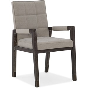 Cupertino Upholstered Arm Chair