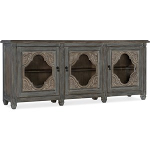 Relaxed Vintage Entertainment Console