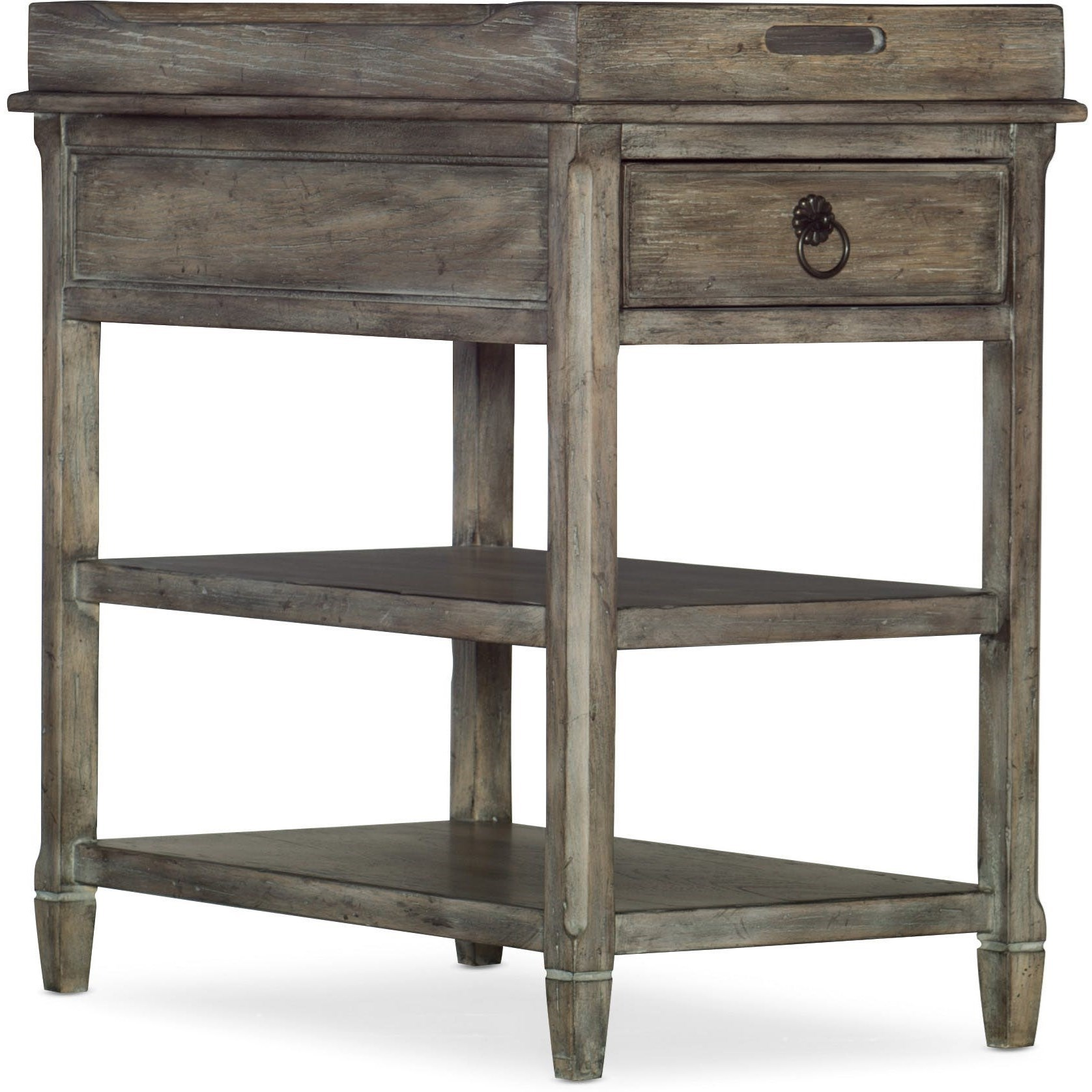 Modele Chairside Table by Hooker Furniture at Baer's Furniture