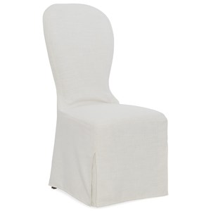 Transitional Slipcover Chair