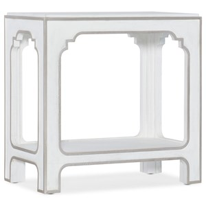 Transitional Rectangular End Table