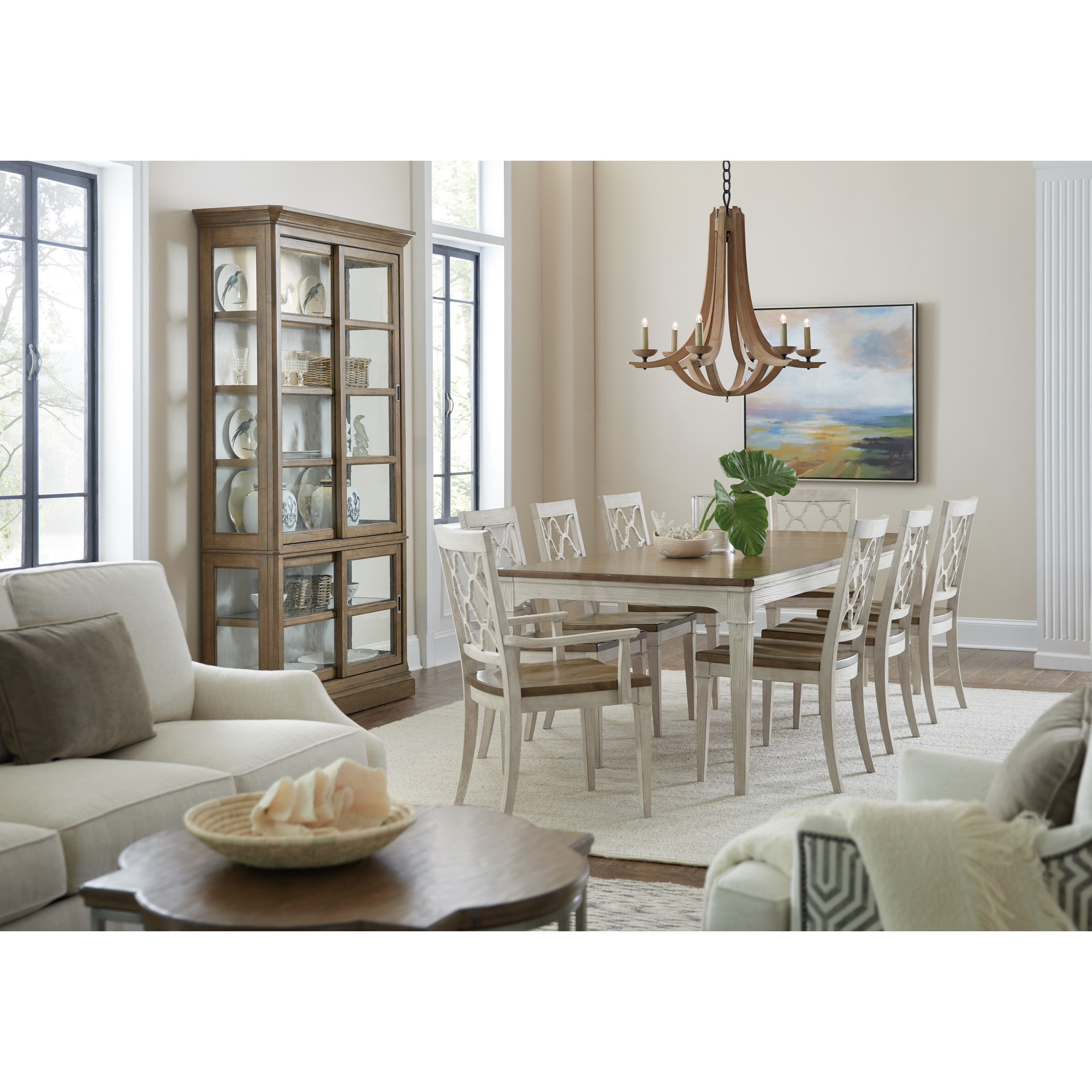 Montebello Formal Dining Room Group by Hooker Furniture at Alison Craig Home Furnishings