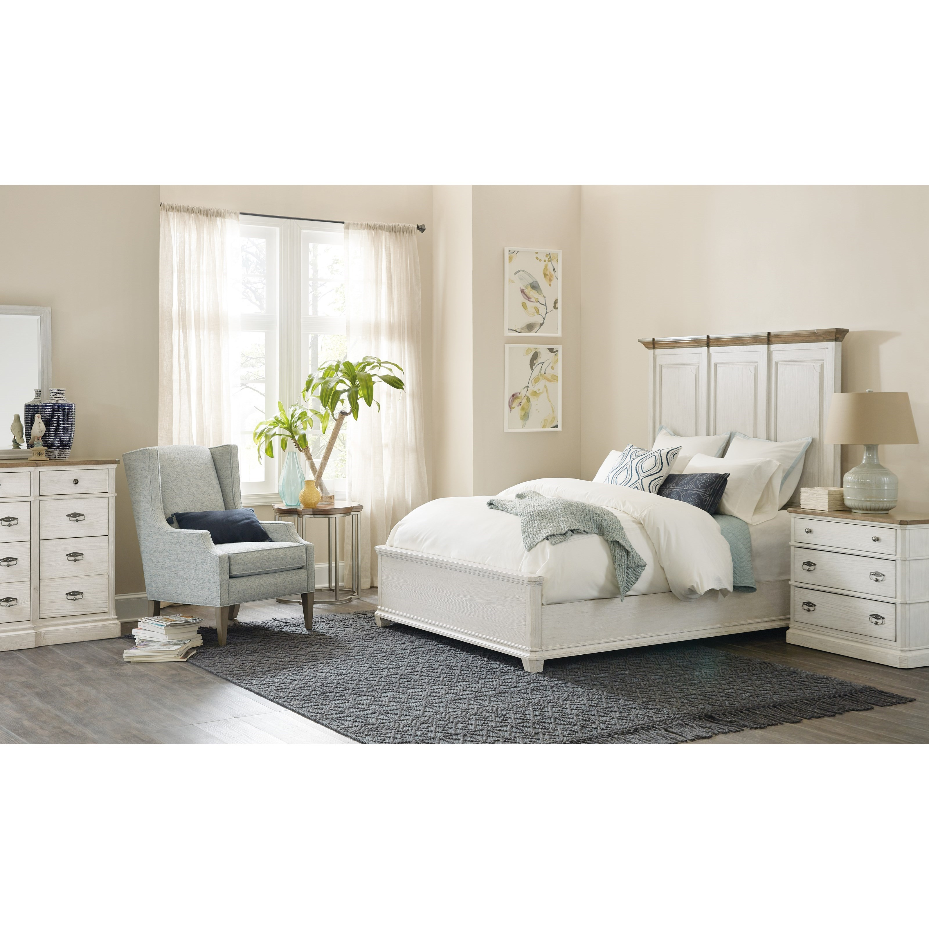 Montebello King Bedroom Group by Hooker Furniture at Baer's Furniture
