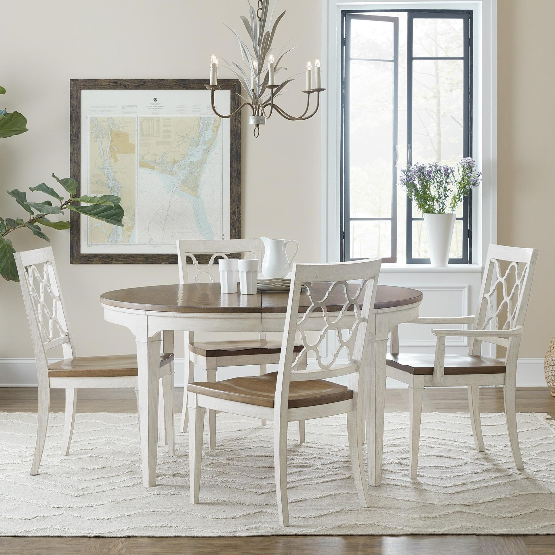 Montebello 5-Piece Dining Set by Hooker Furniture at Stoney Creek Furniture