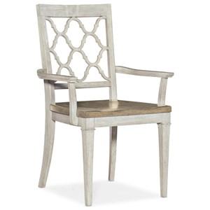 Farmhouse Solid Wood Arm Chair