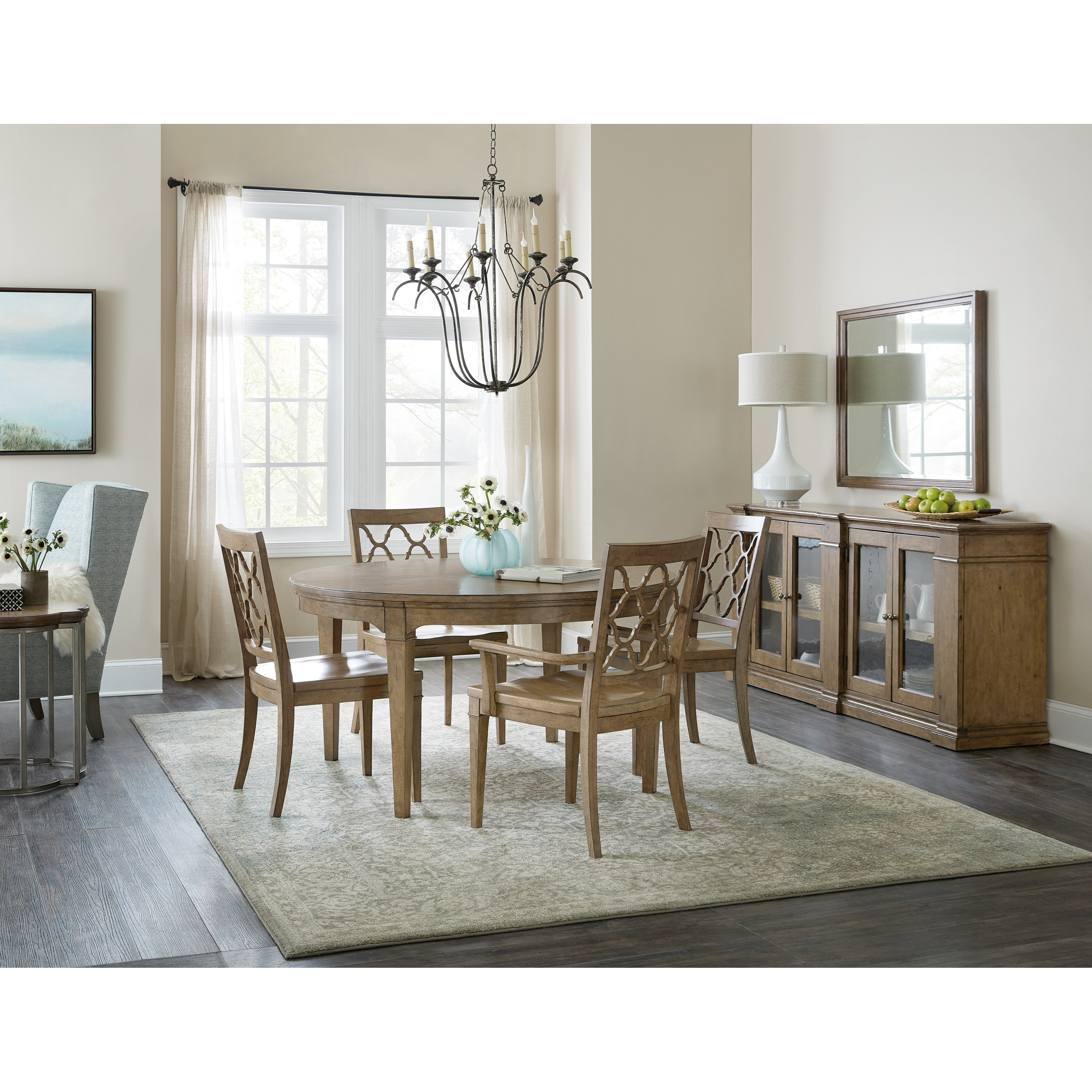 Montebello Casual Dining Room Group by Hooker Furniture at Baer's Furniture
