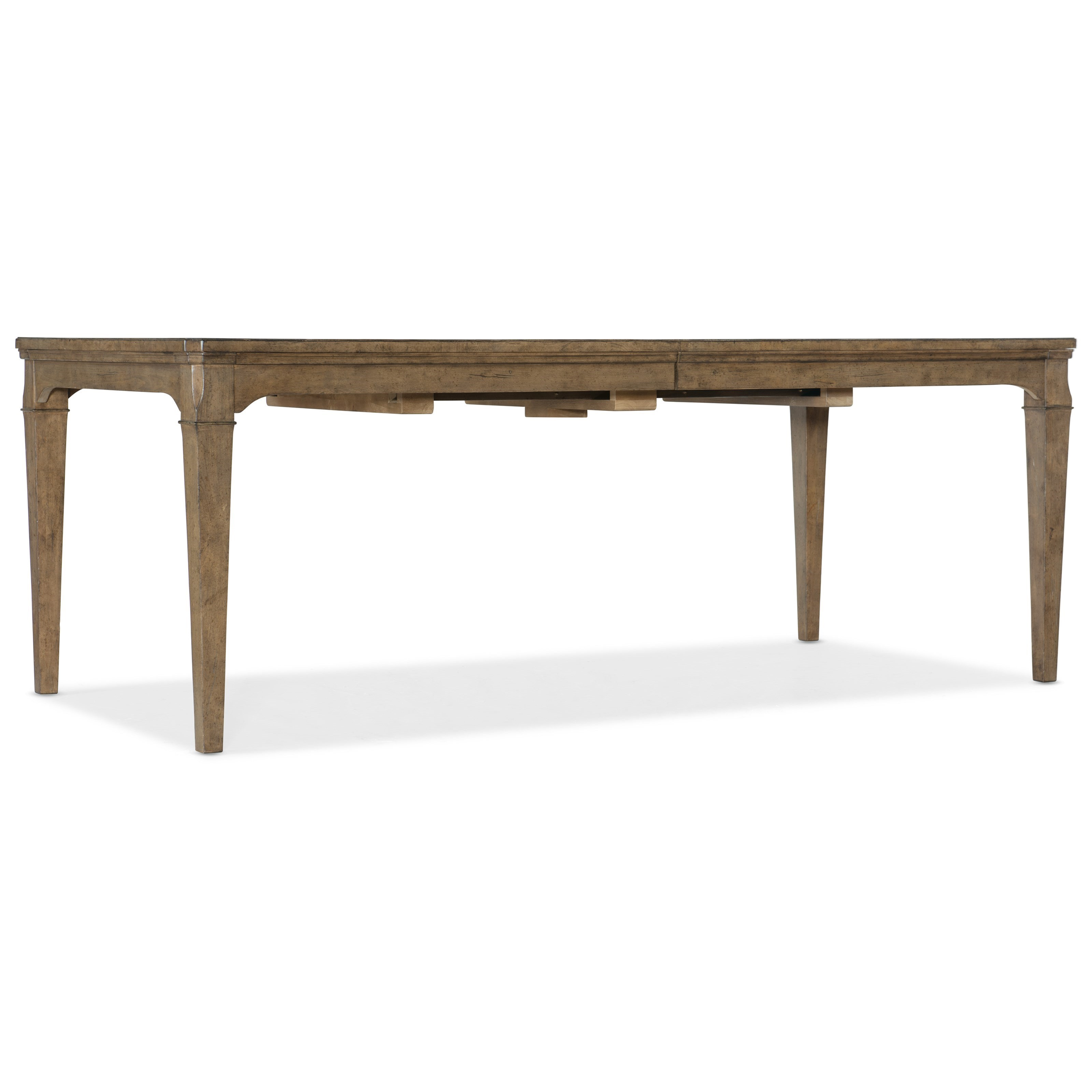 Montebello 82 Inch Rectangle Dining Table w Leaf by Hooker Furniture at Baer's Furniture