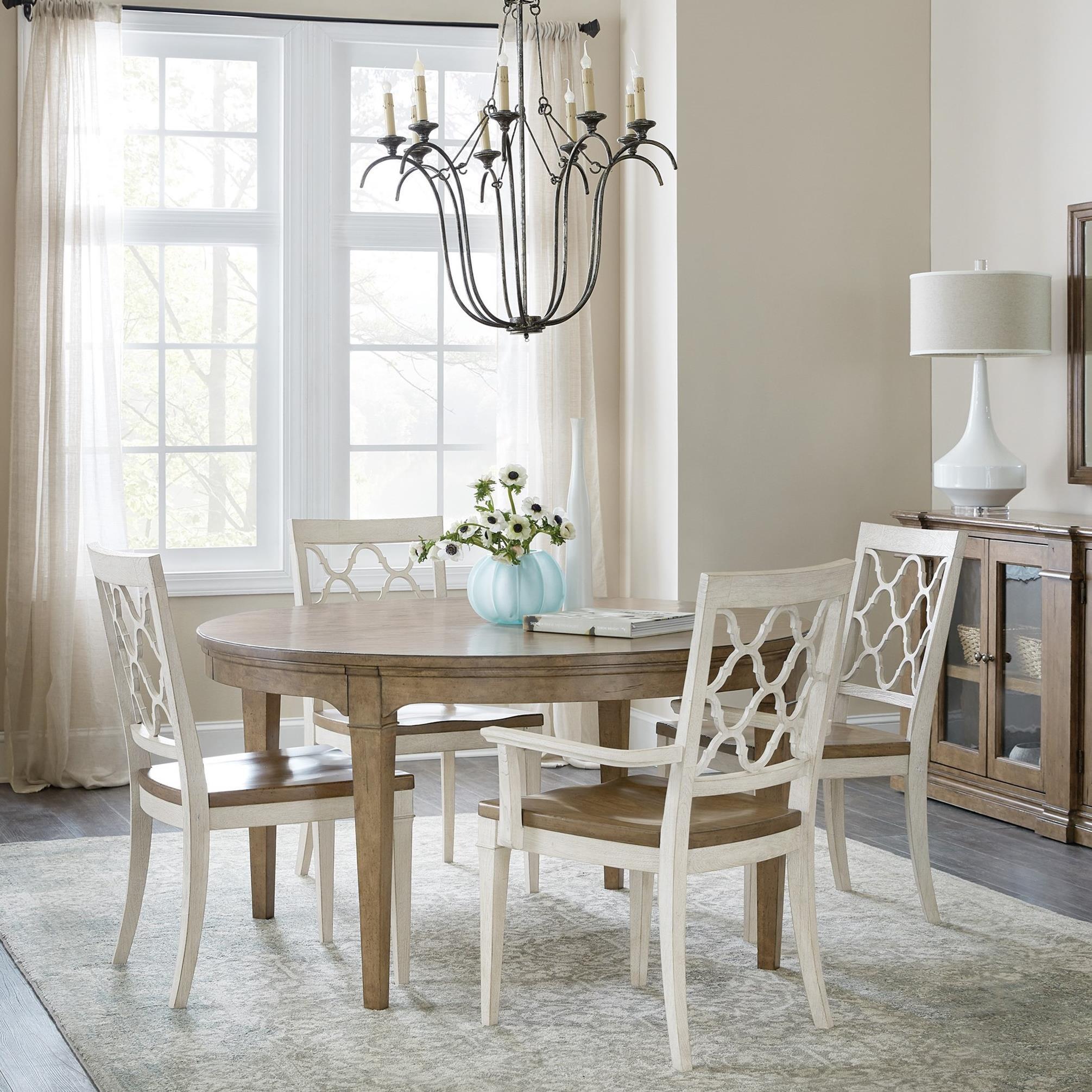 Montebello 5-Piece Dining Set by Hooker Furniture at Baer's Furniture