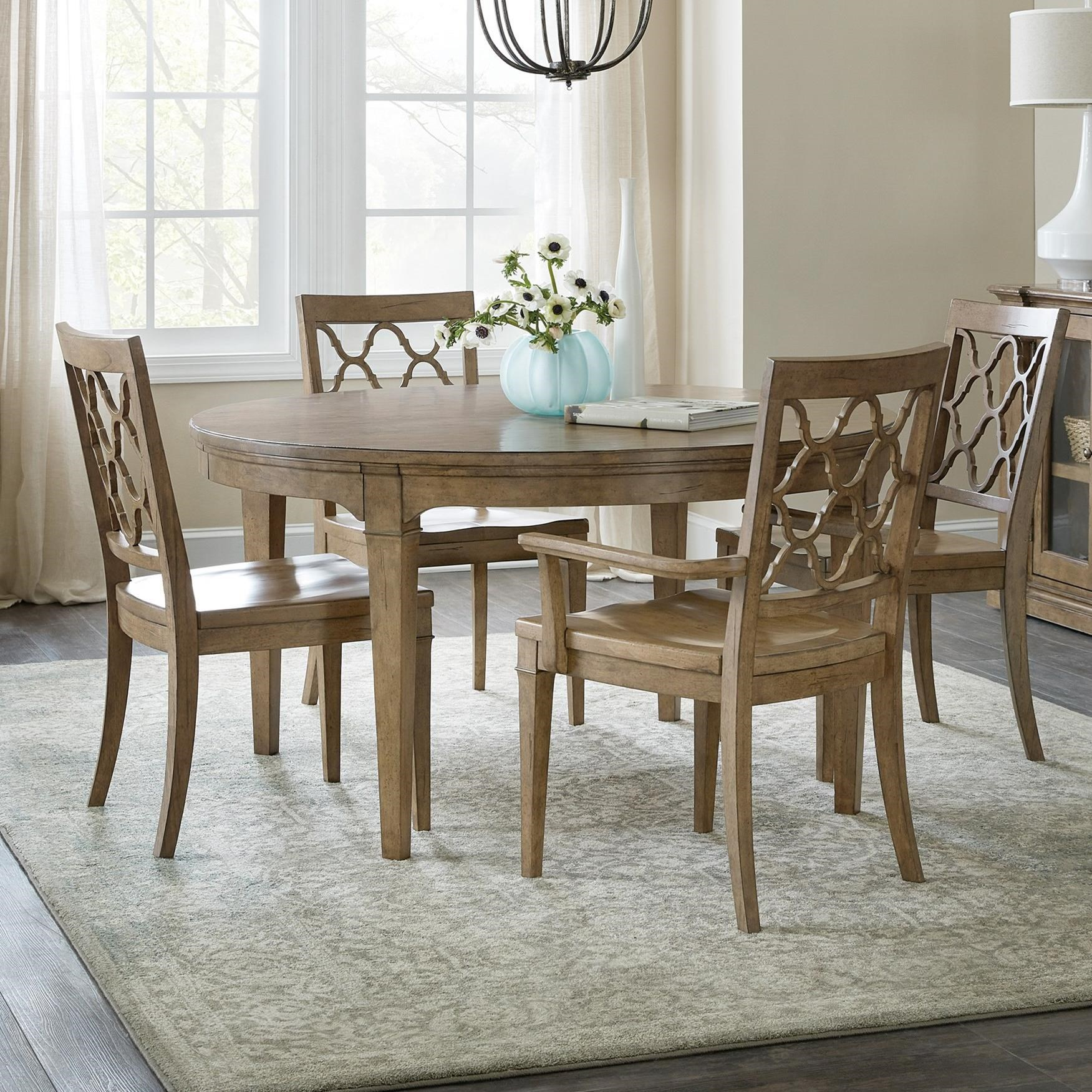 Montebello 5-Piece Dining Set by Hooker Furniture at Baer's Furniture