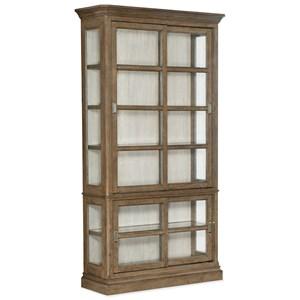 Sliding Door Display Cabinet