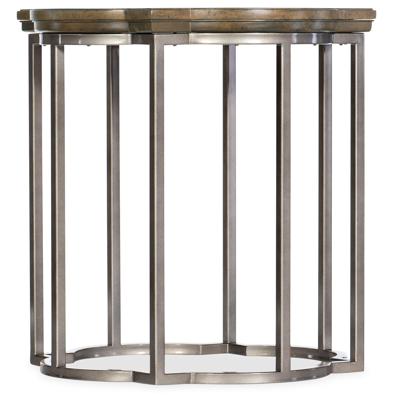 Montebello Round End Table by Hooker Furniture at Baer's Furniture