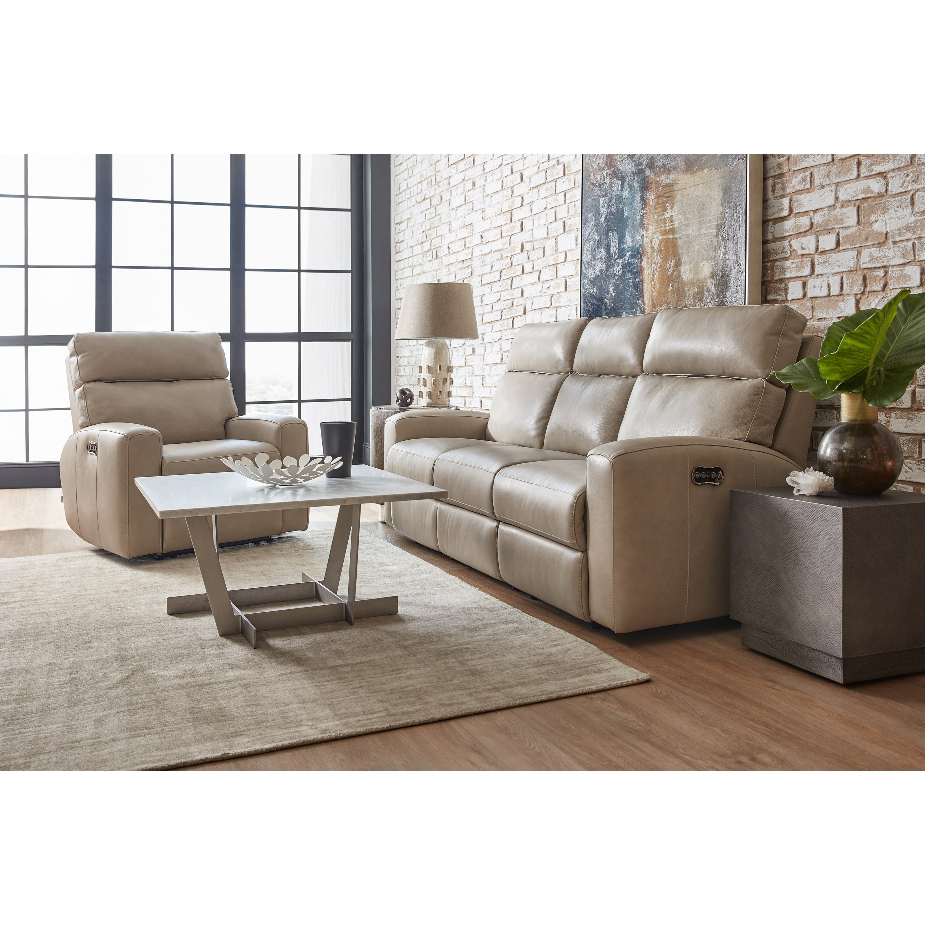 Mowry Reclining Living Room Group by Hooker Furniture at Baer's Furniture