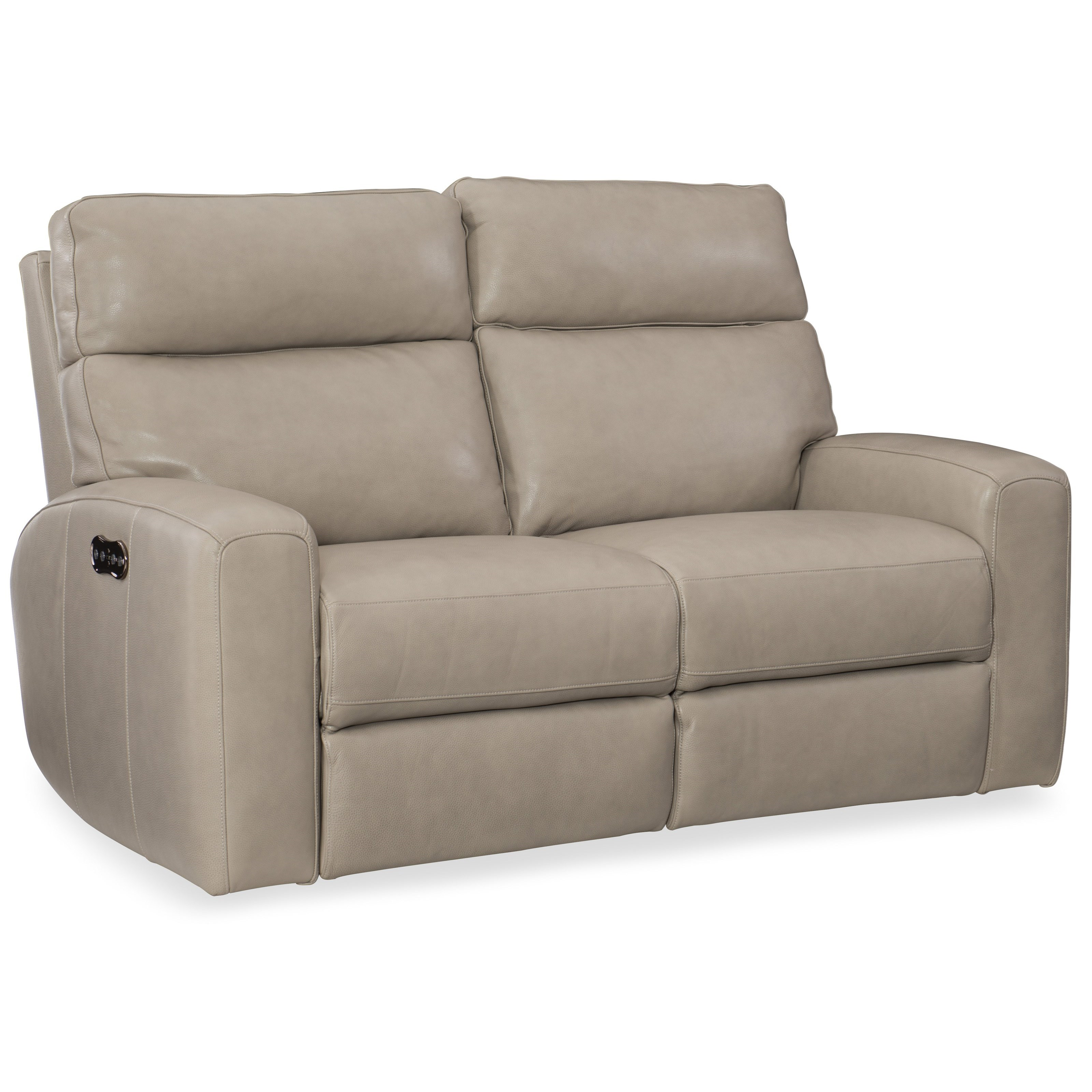 Mowry Mowry Power Motion Loveseat w/Pwr Hdrest by Hooker Furniture at Baer's Furniture