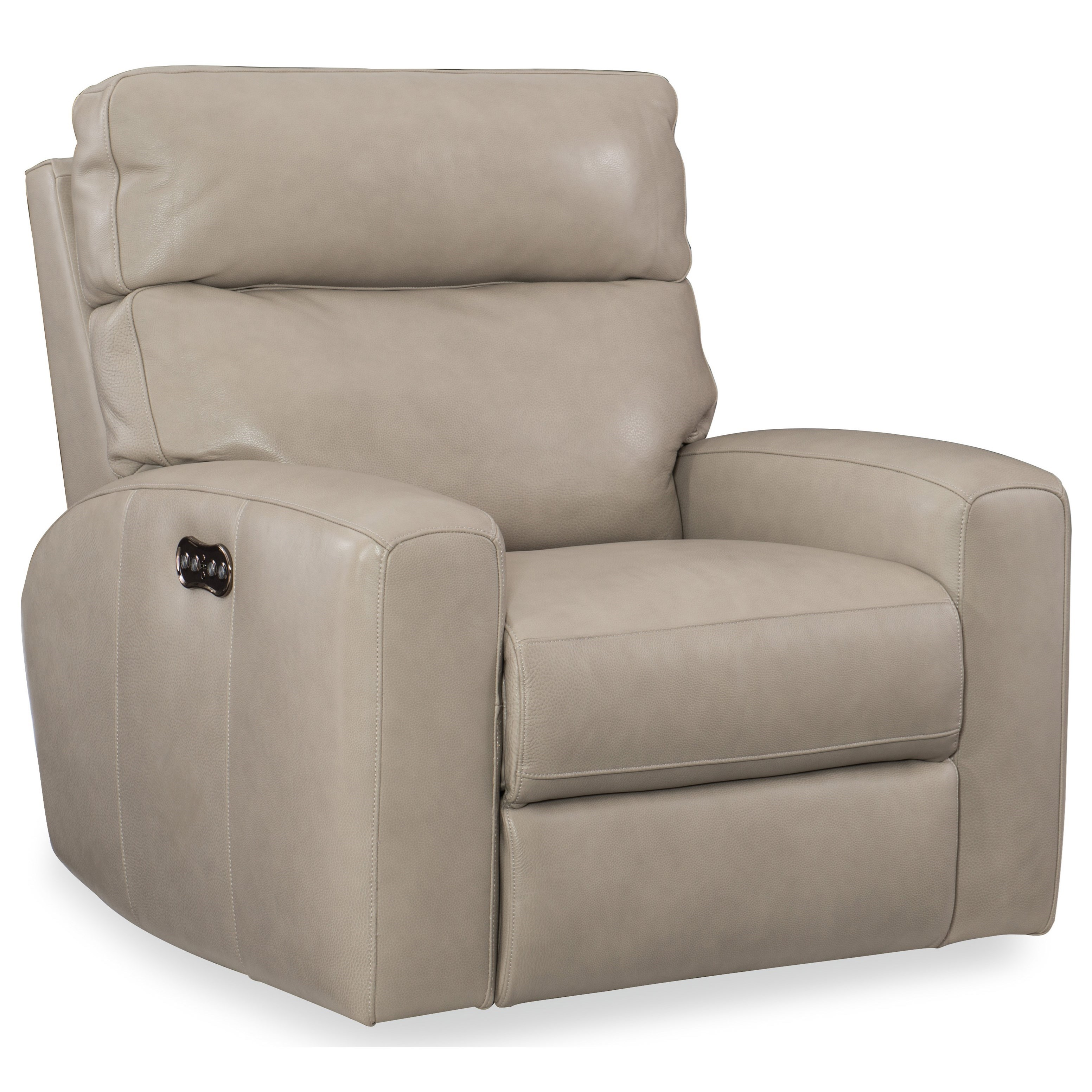 Mowry Power Motion Recliner w/Pwr Hdrest by Hooker Furniture at Baer's Furniture