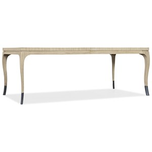 "Lobitos Rectangular Dining Table with 20"" Leaf"
