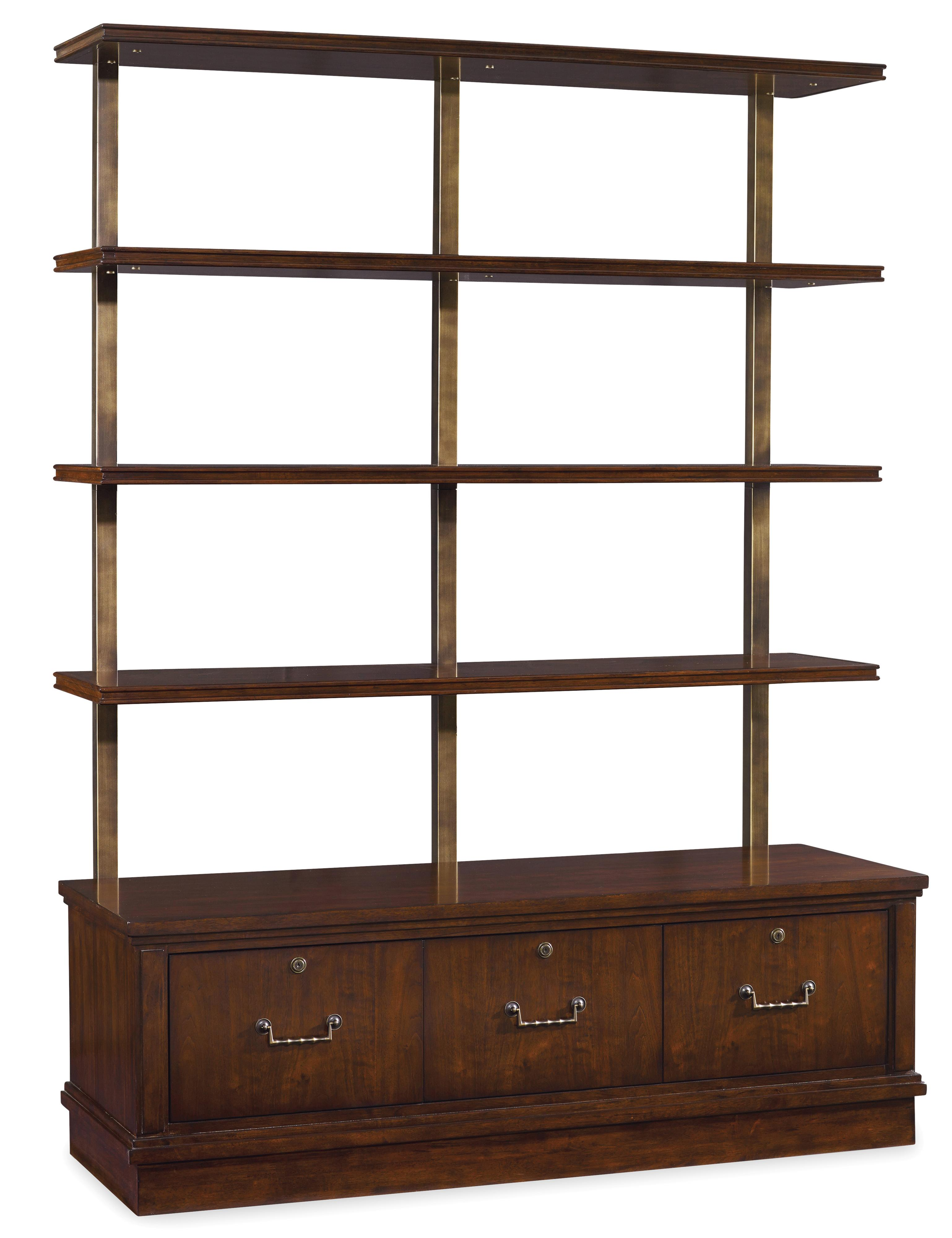 Palisade Bookcase by Hooker Furniture at Stoney Creek Furniture