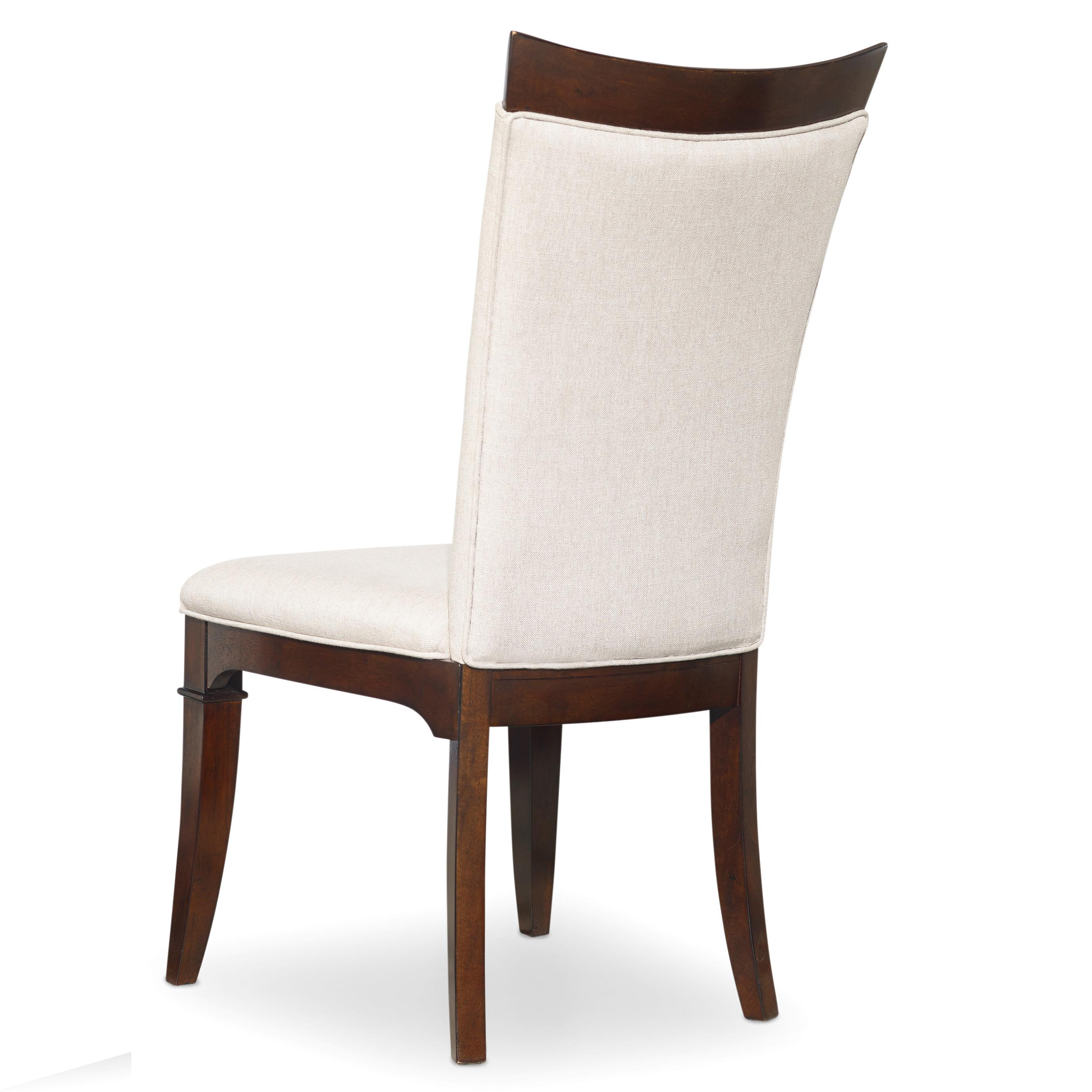 Palisade Upholstered Side Chair by Hooker Furniture at Stoney Creek Furniture