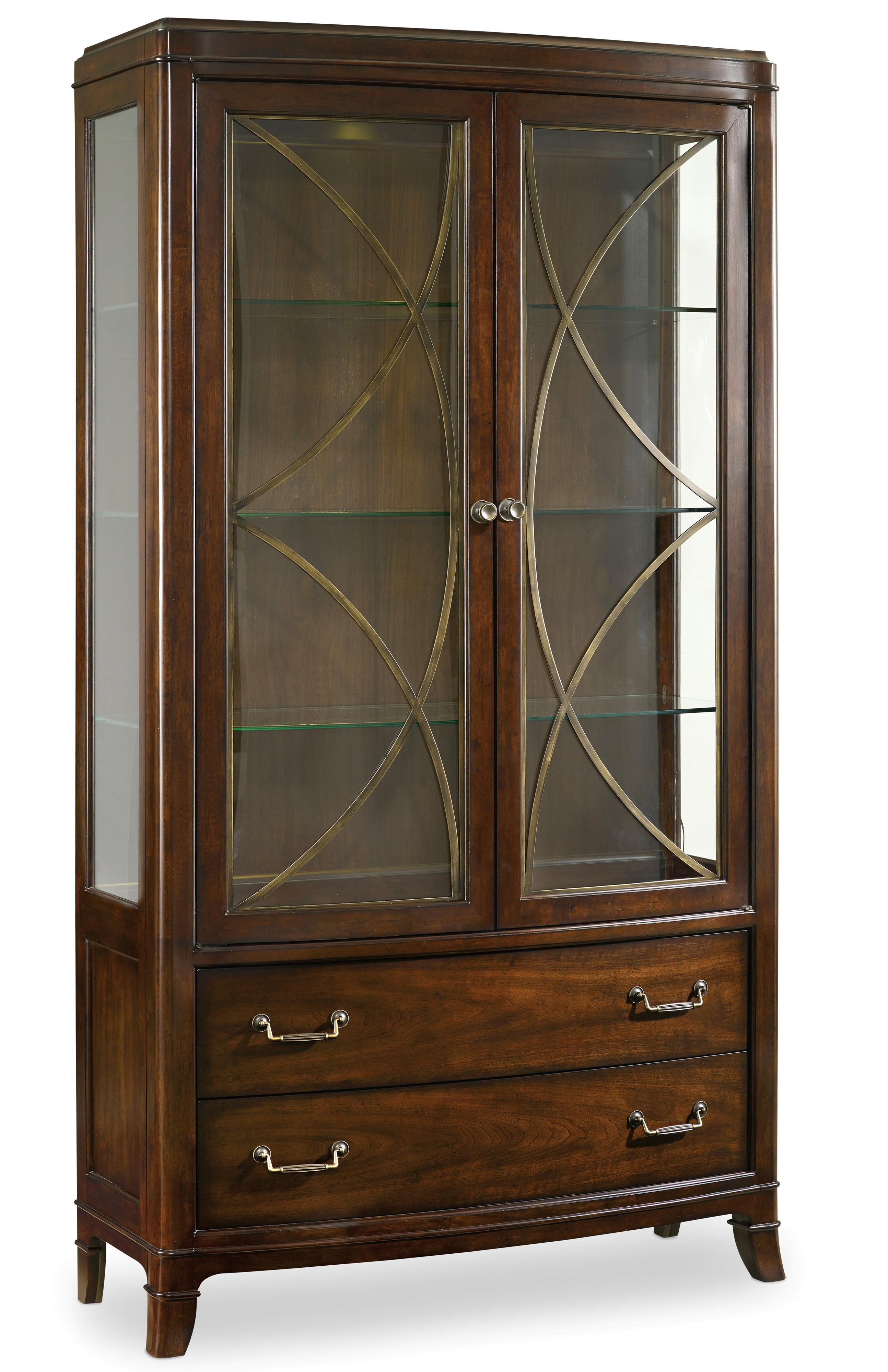 Palisade Display China by Hooker Furniture at Upper Room Home Furnishings
