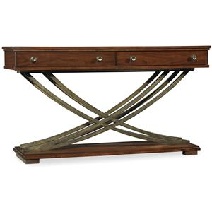 Hooker Furniture Palisade Cross Base Sofa Table