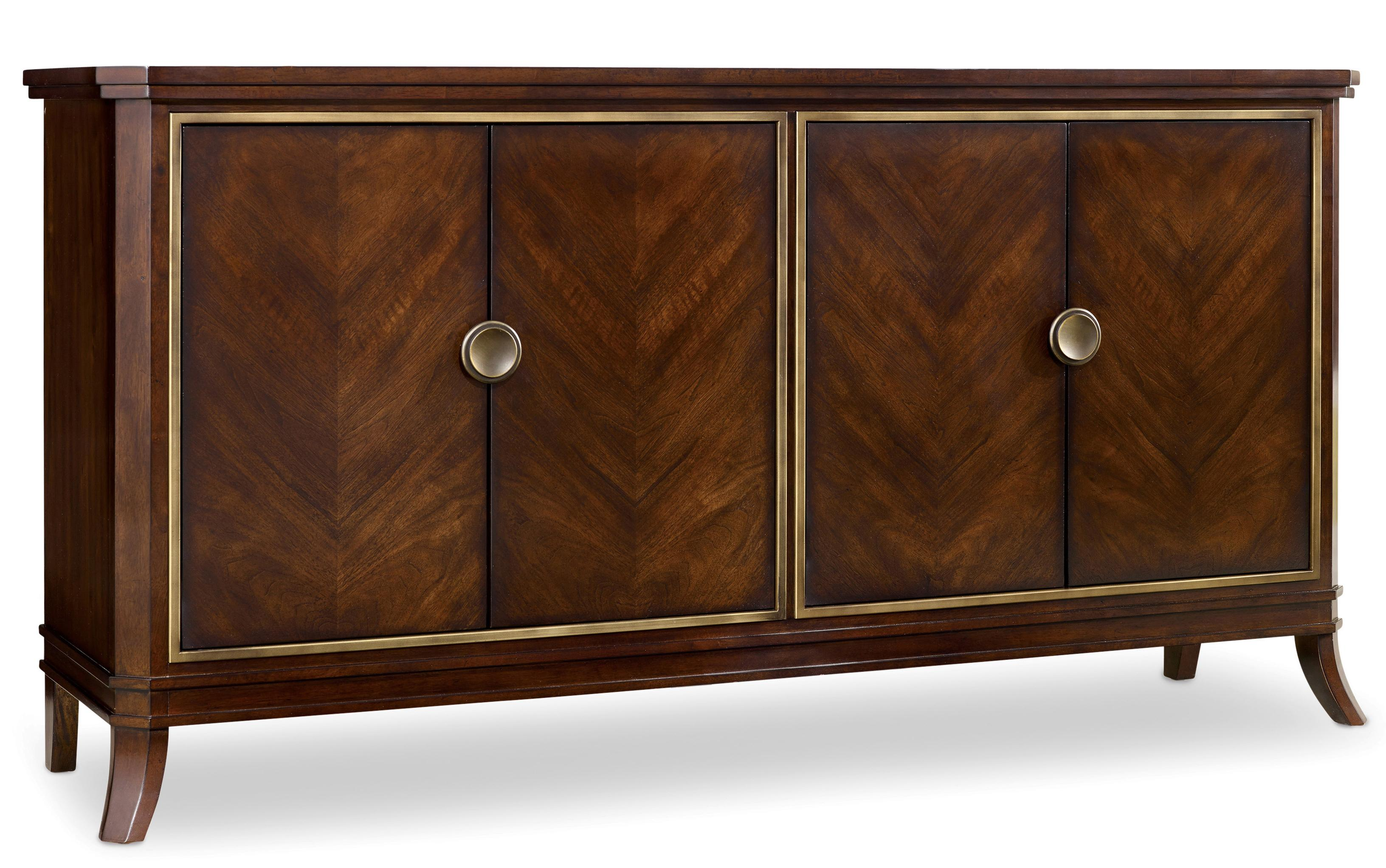 Palisade 4 Door Chest by Hooker Furniture at Stoney Creek Furniture