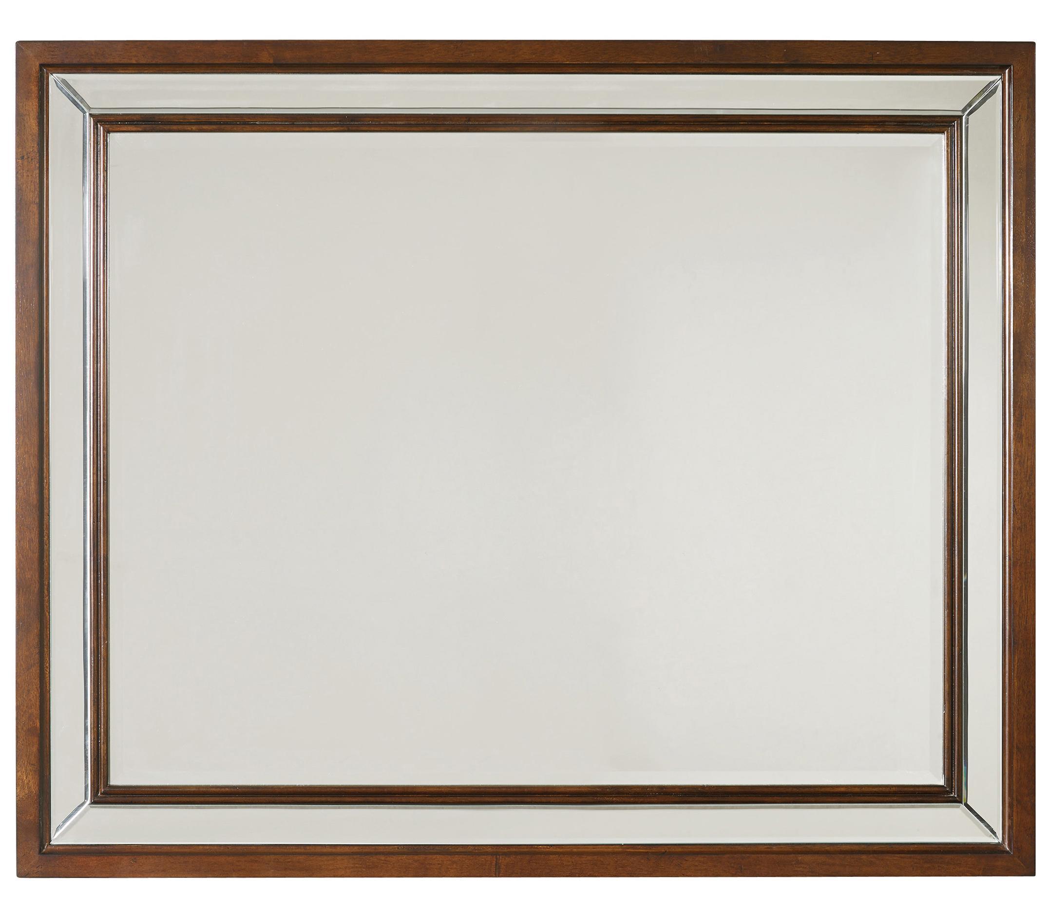 Palisade Landscape Mirror by Hooker Furniture at Goods Furniture