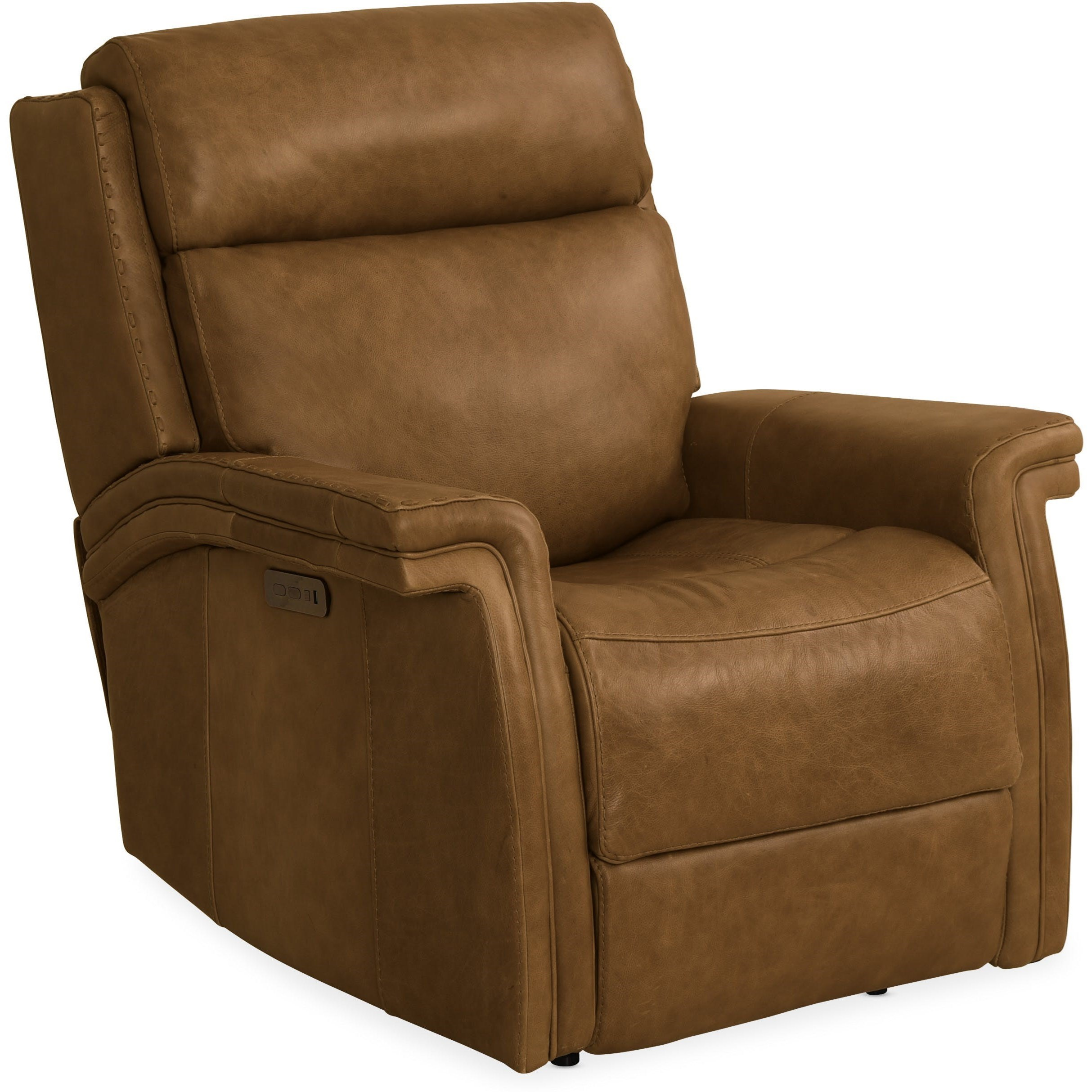 Poise Power Recliner by Hooker Furniture at Baer's Furniture