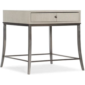 Rectangle End Table with Drawer