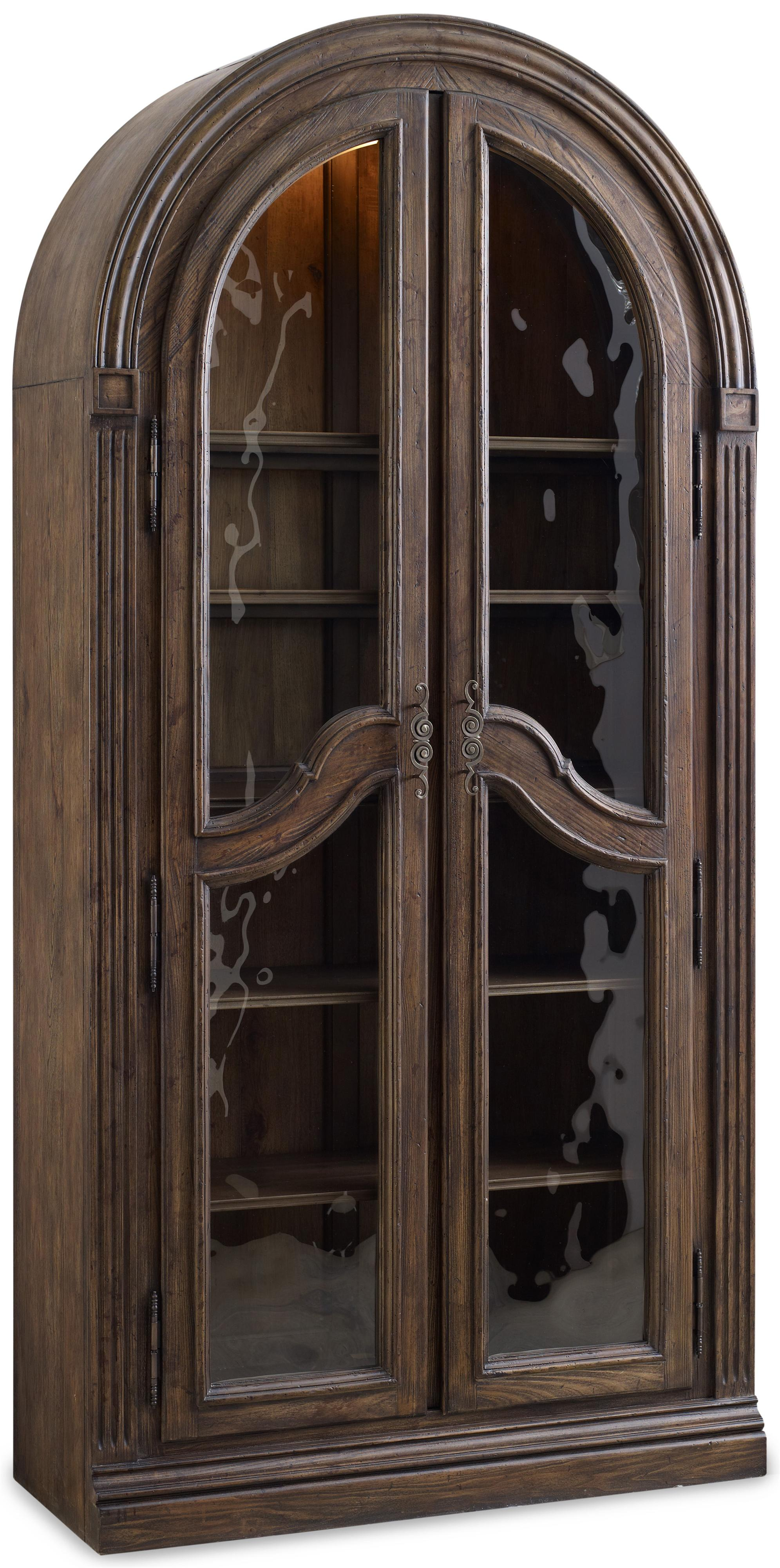 Rhapsody Bunching Curio  by Hooker Furniture at Baer's Furniture