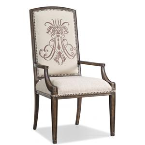 Hooker Furniture Rhapsody Insignia Arm Chair