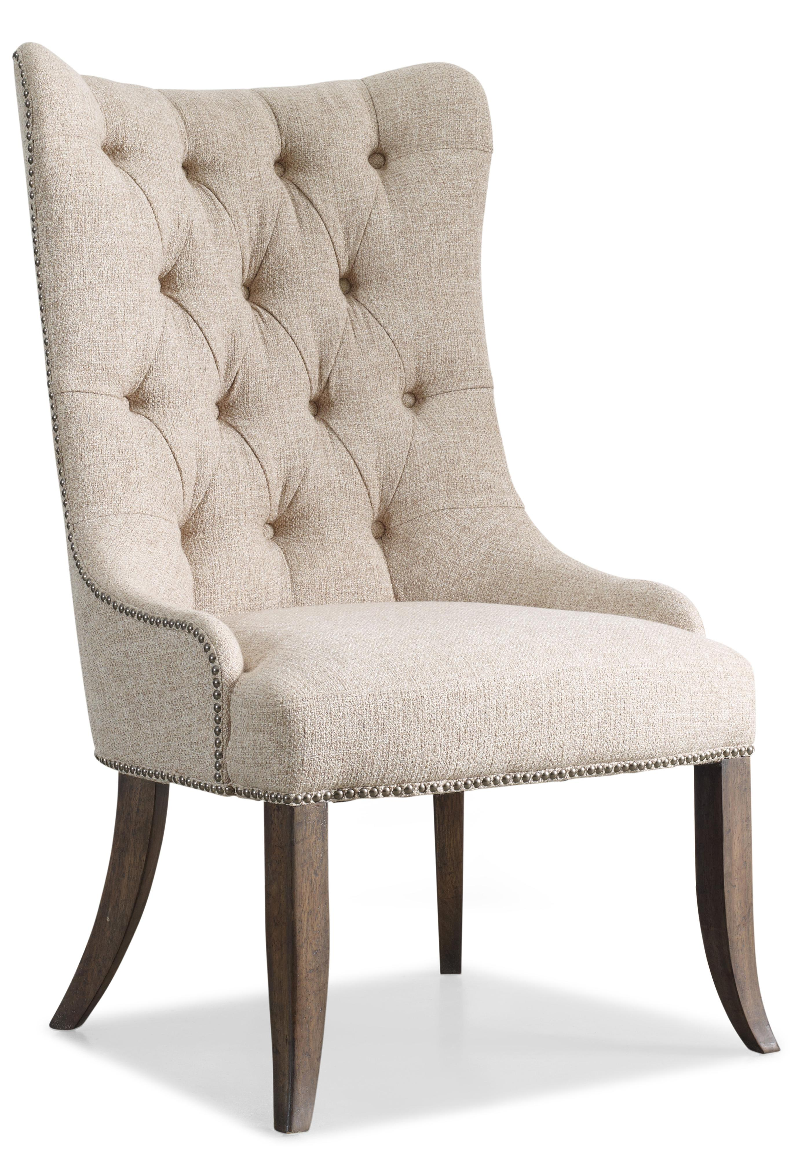 Rhapsody Tufted Dining Chair by Hooker Furniture at Belfort Furniture