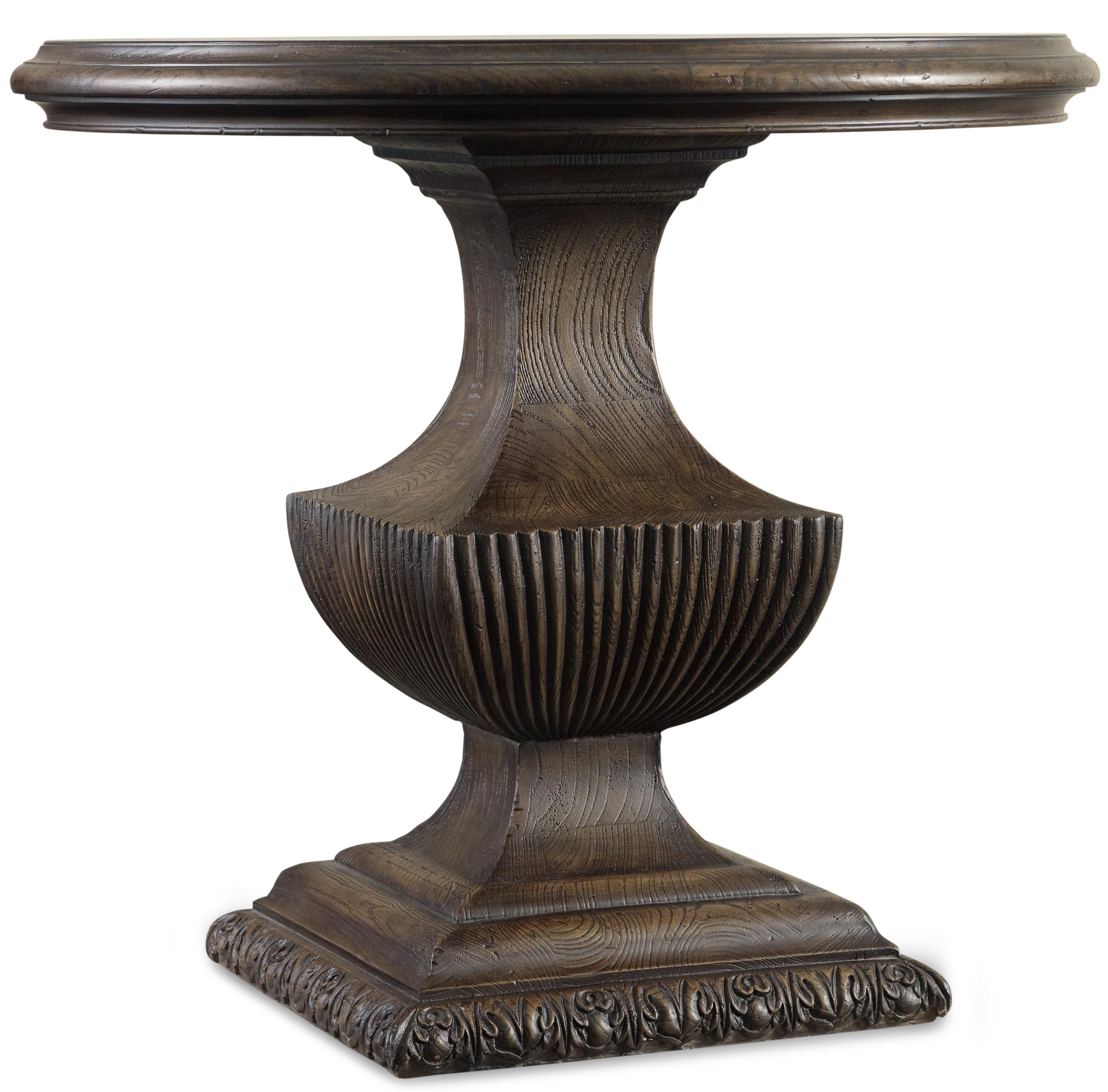 Urn Pedestal Table