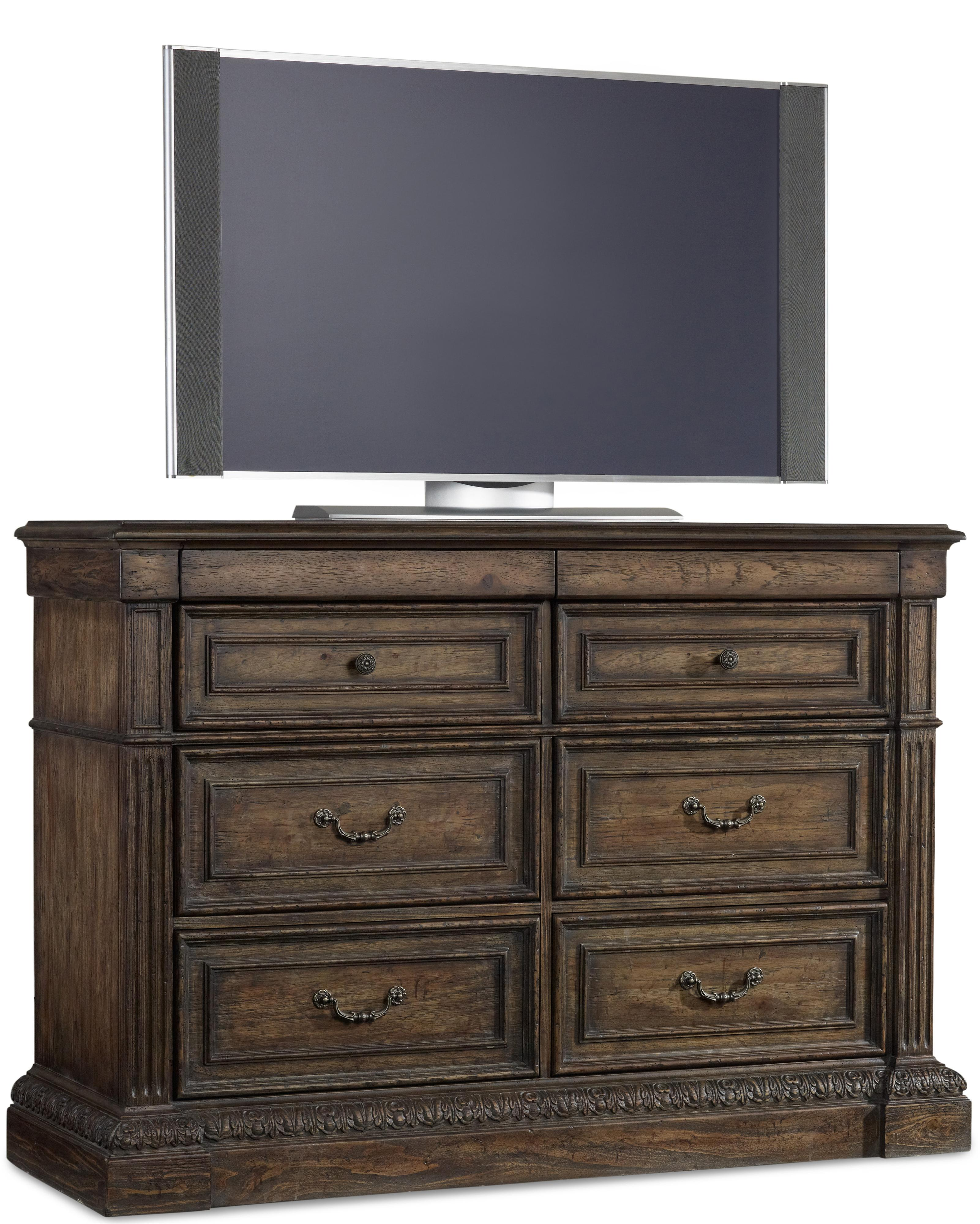 Rhapsody Media Chest by Hooker Furniture at Baer's Furniture