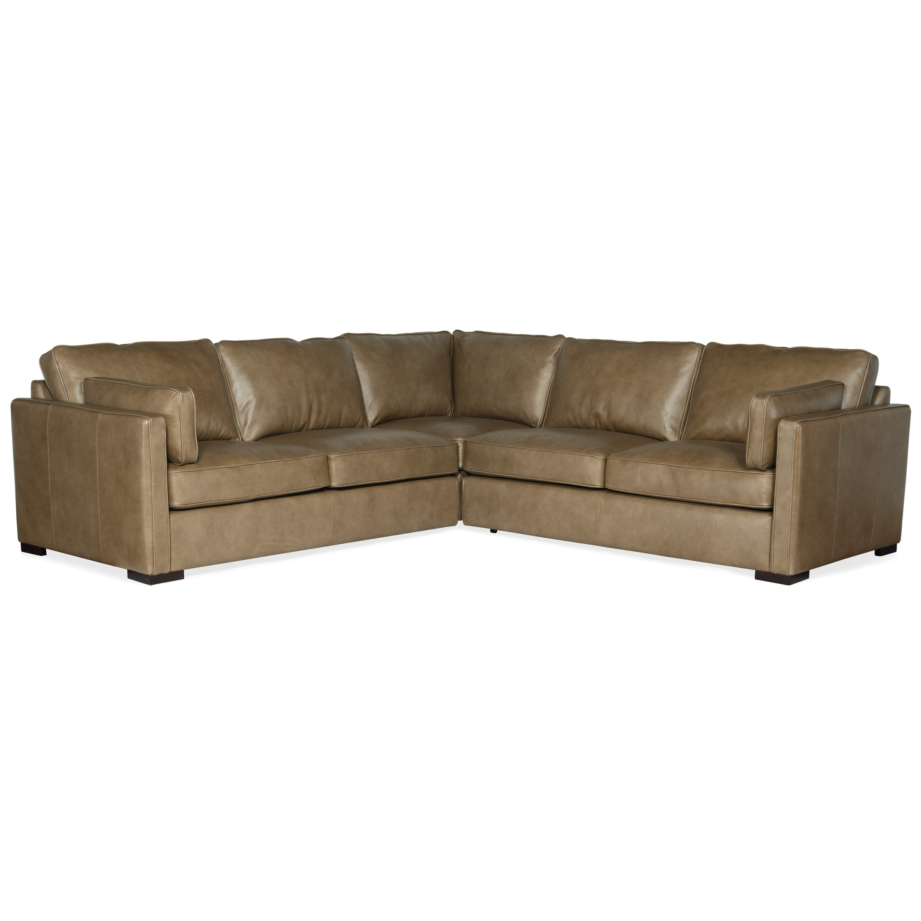 Romiah 3-Piece Stationary Sectional by Hooker Furniture at Zak's Home