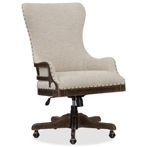 Deconstructed Tilt Swivel Chair