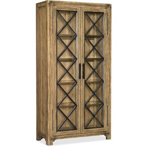 Bunching Display Cabinet with 4 Shelves