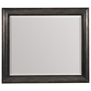 Landscape Mirror with Metal Frame
