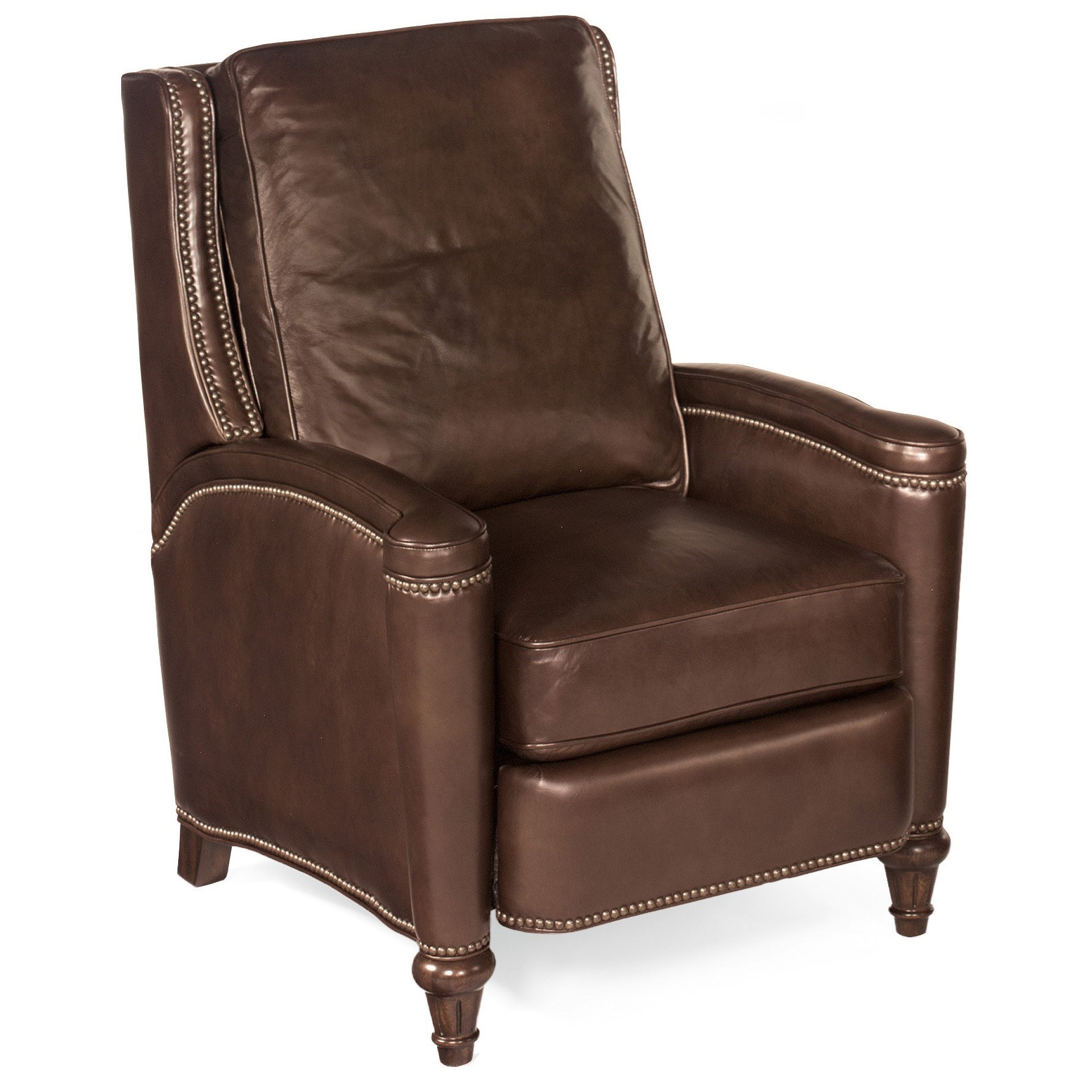 Rylea Push Back Recliner by Hooker Furniture at Miller Waldrop Furniture and Decor