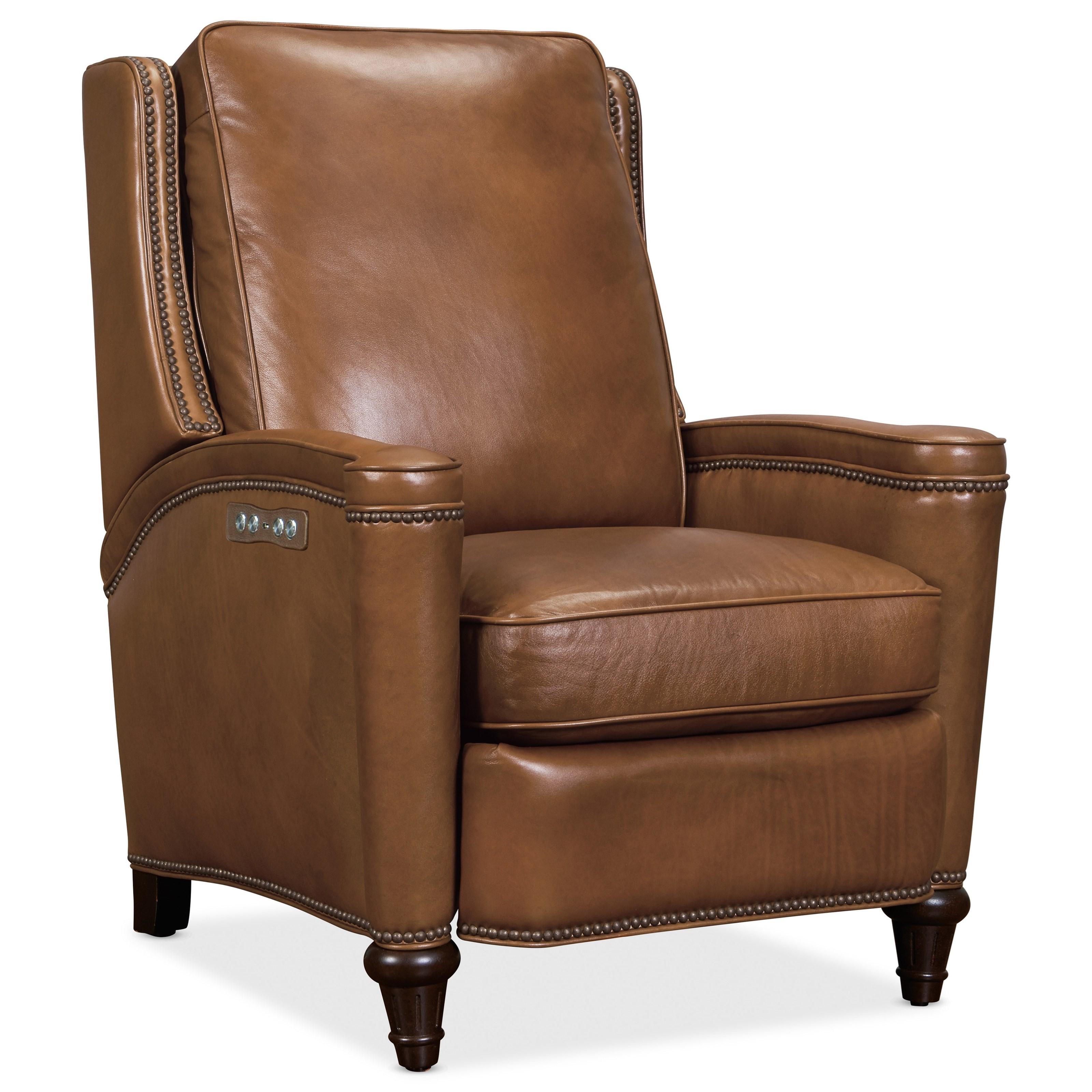 Rylea Power Recliner w/ Power Headrest by Hooker Furniture at Johnny Janosik