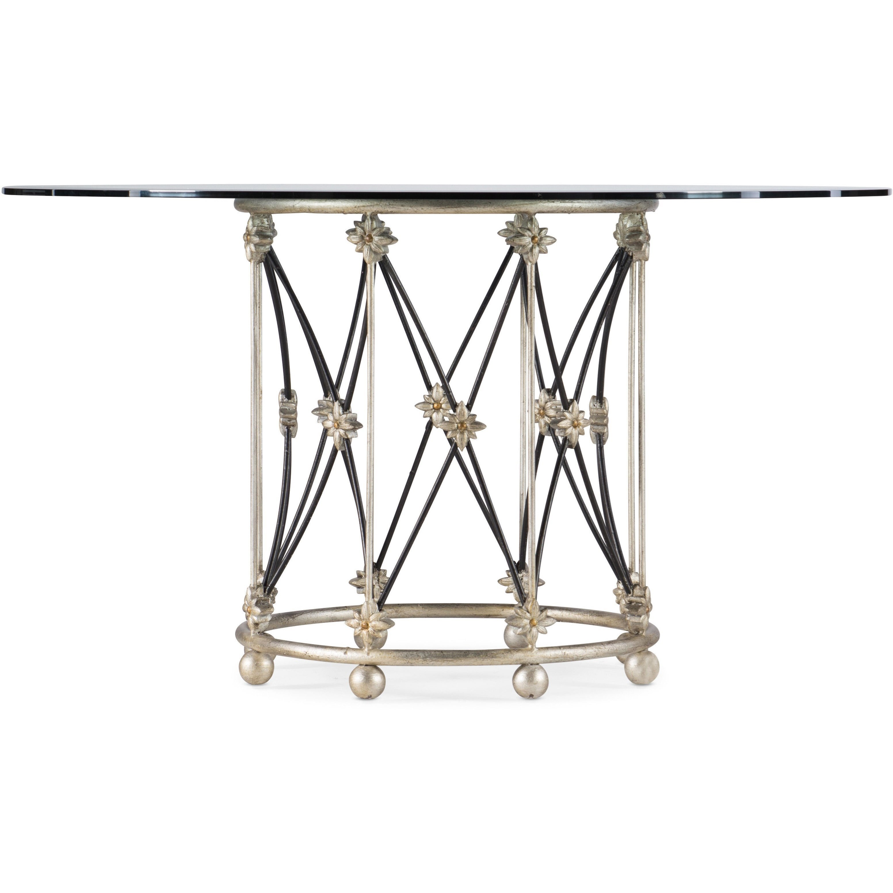 Sanctuary Pirouette Dining Table Base by Hooker Furniture at Baer's Furniture